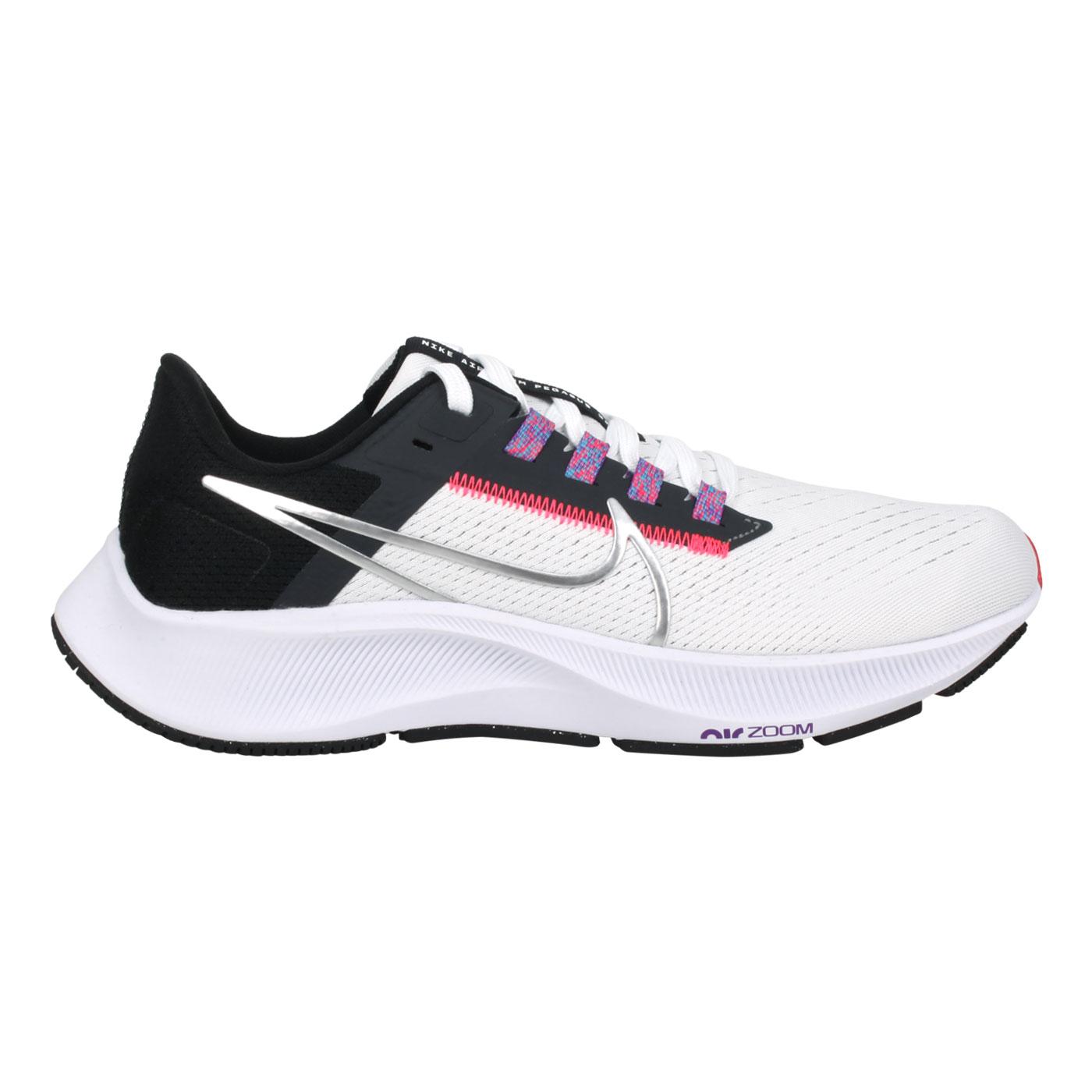NIKE 女款運動慢跑鞋  @WMNS AIR ZOOM PEGASUS 38@CW7358101 - 白黑粉紫