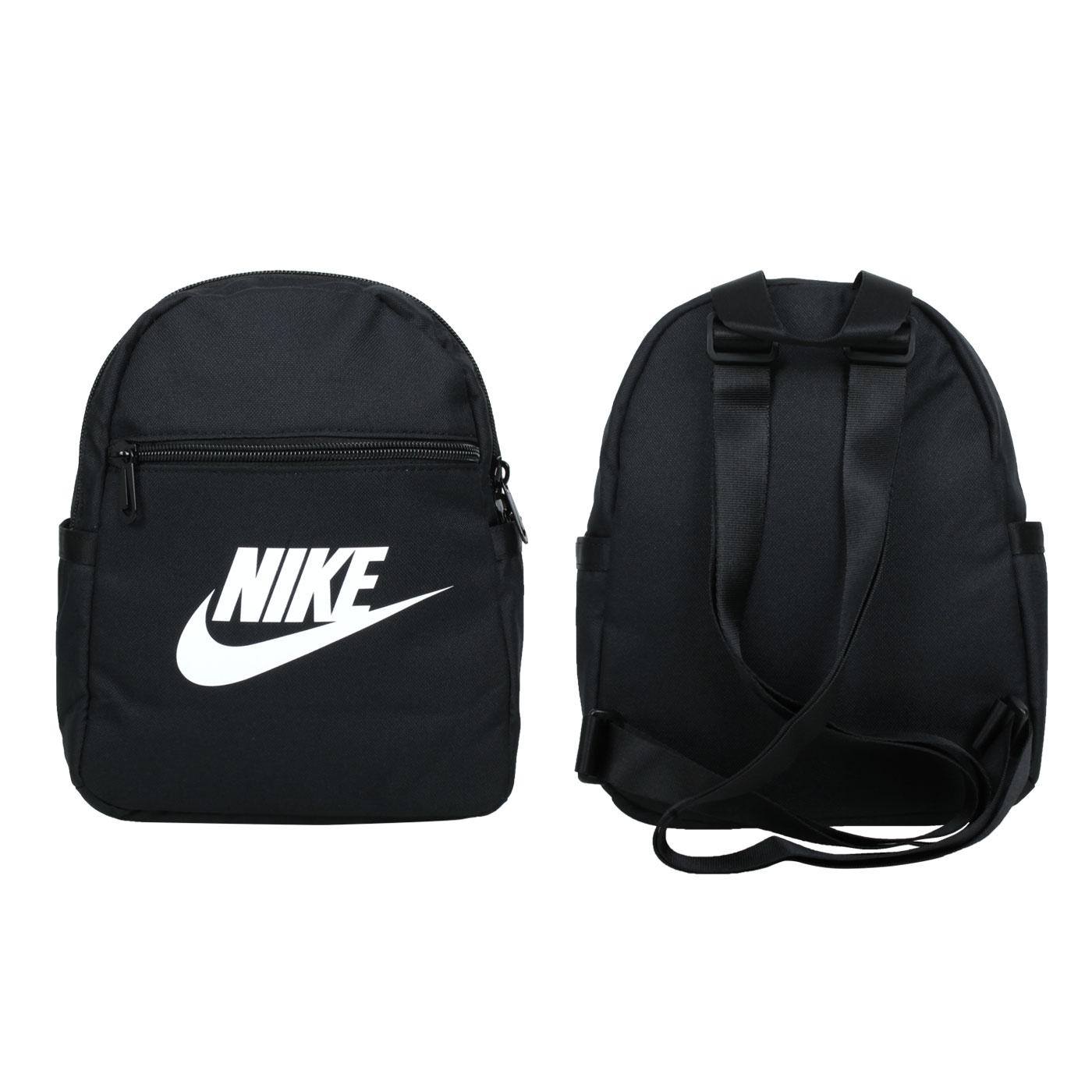 NIKE 小型後背包 CW9301-010 - 黑白