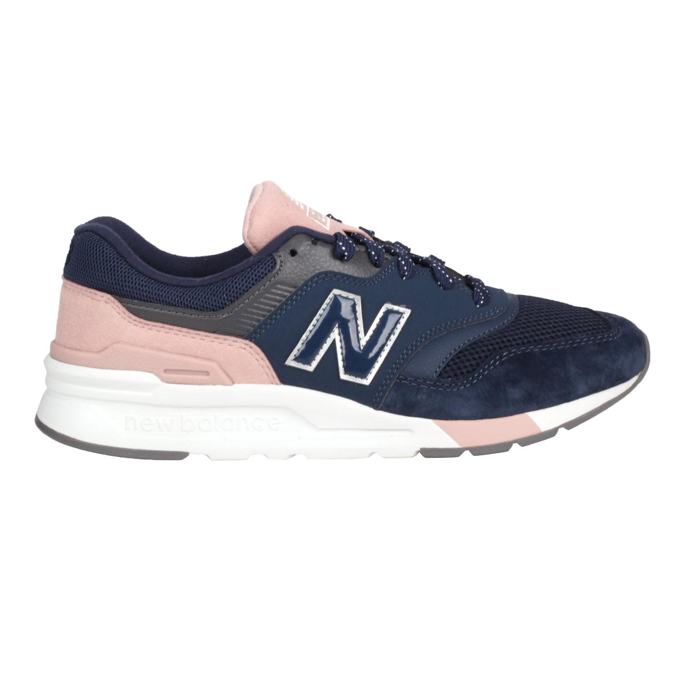 NEW BALANCE 女款復古慢跑鞋 CW997HYA - 丈青粉