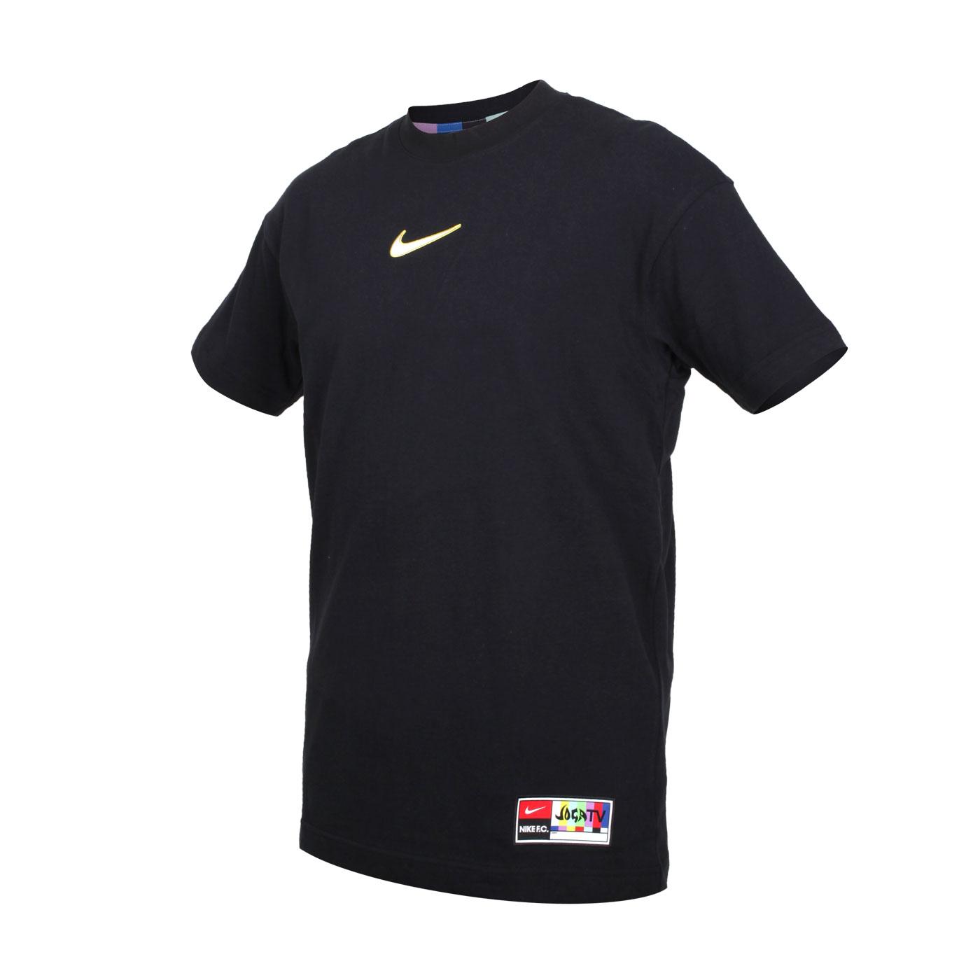 NIKE 男款短袖T恤 CZ1010-010 - 黑白黃