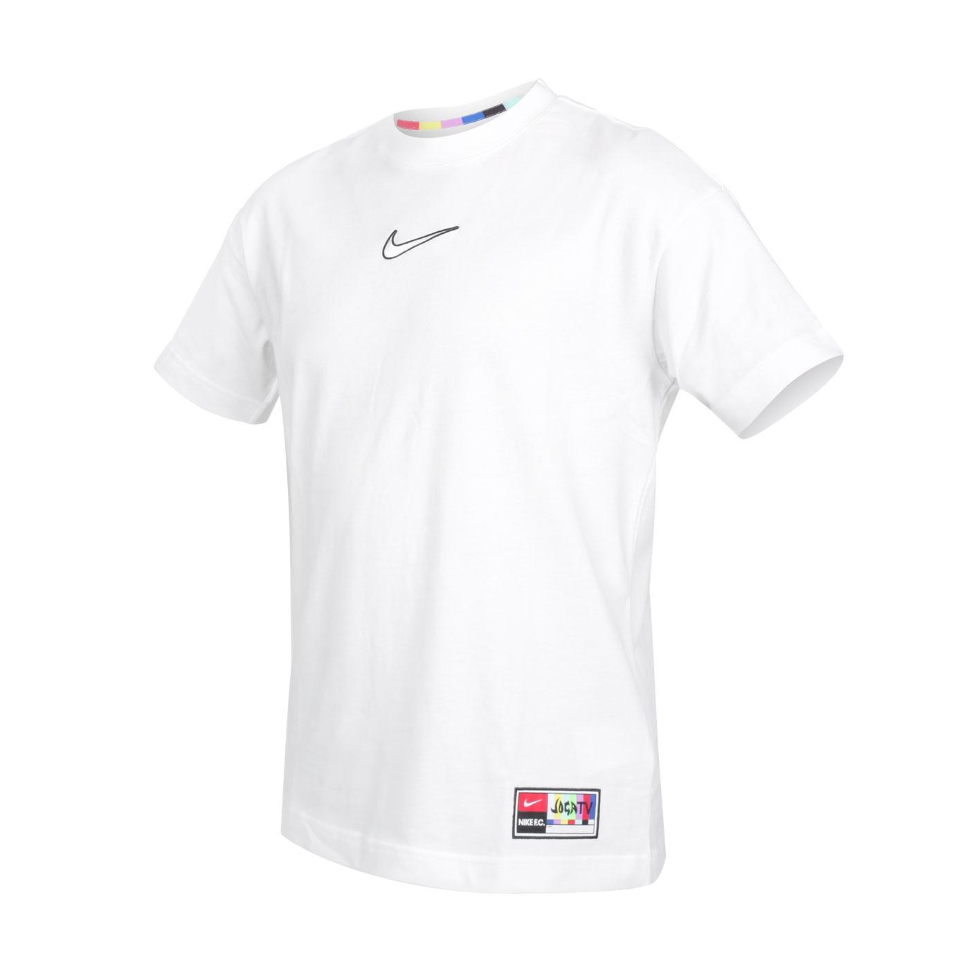 NIKE 男款短袖T恤 CZ1010-100 - 白黑
