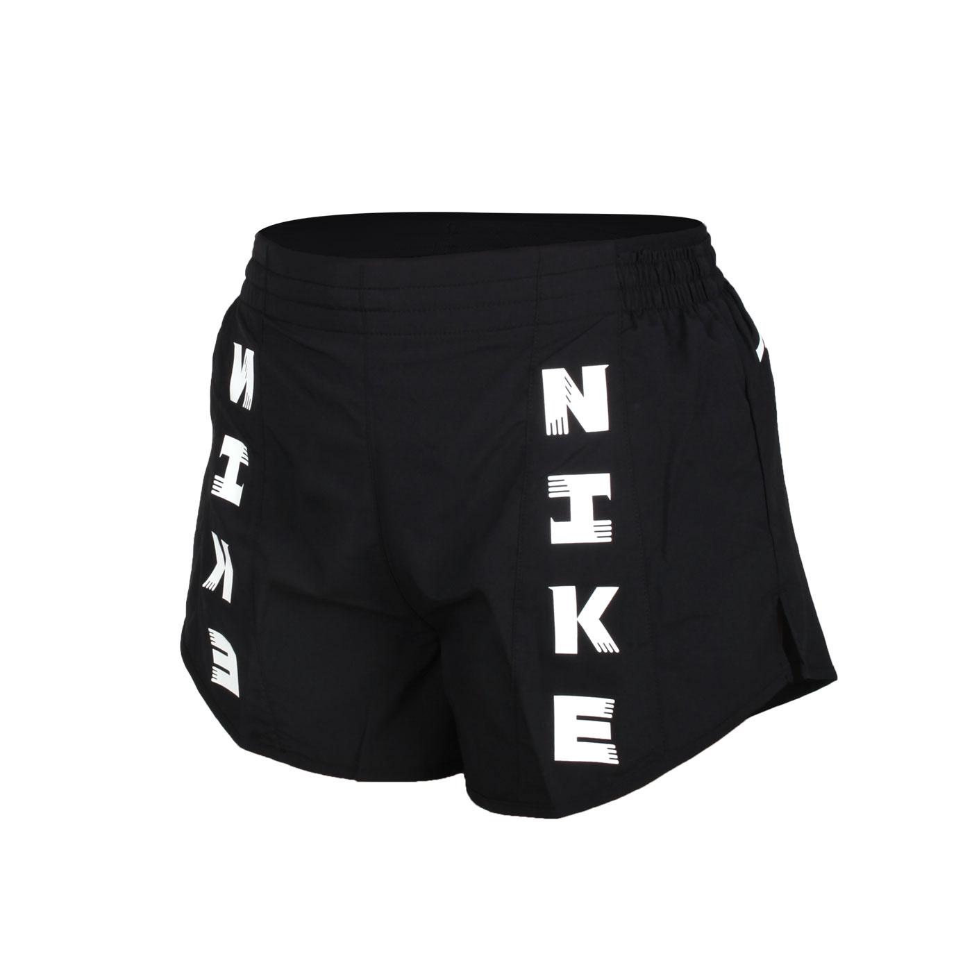 NIKE 女款運動短褲 CZ1620-010 - 黑白