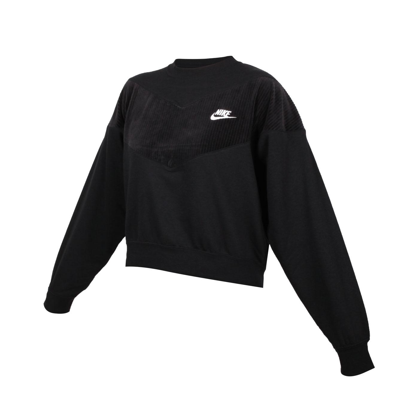 NIKE 女款長袖T恤 CZ1877-010 - 黑白