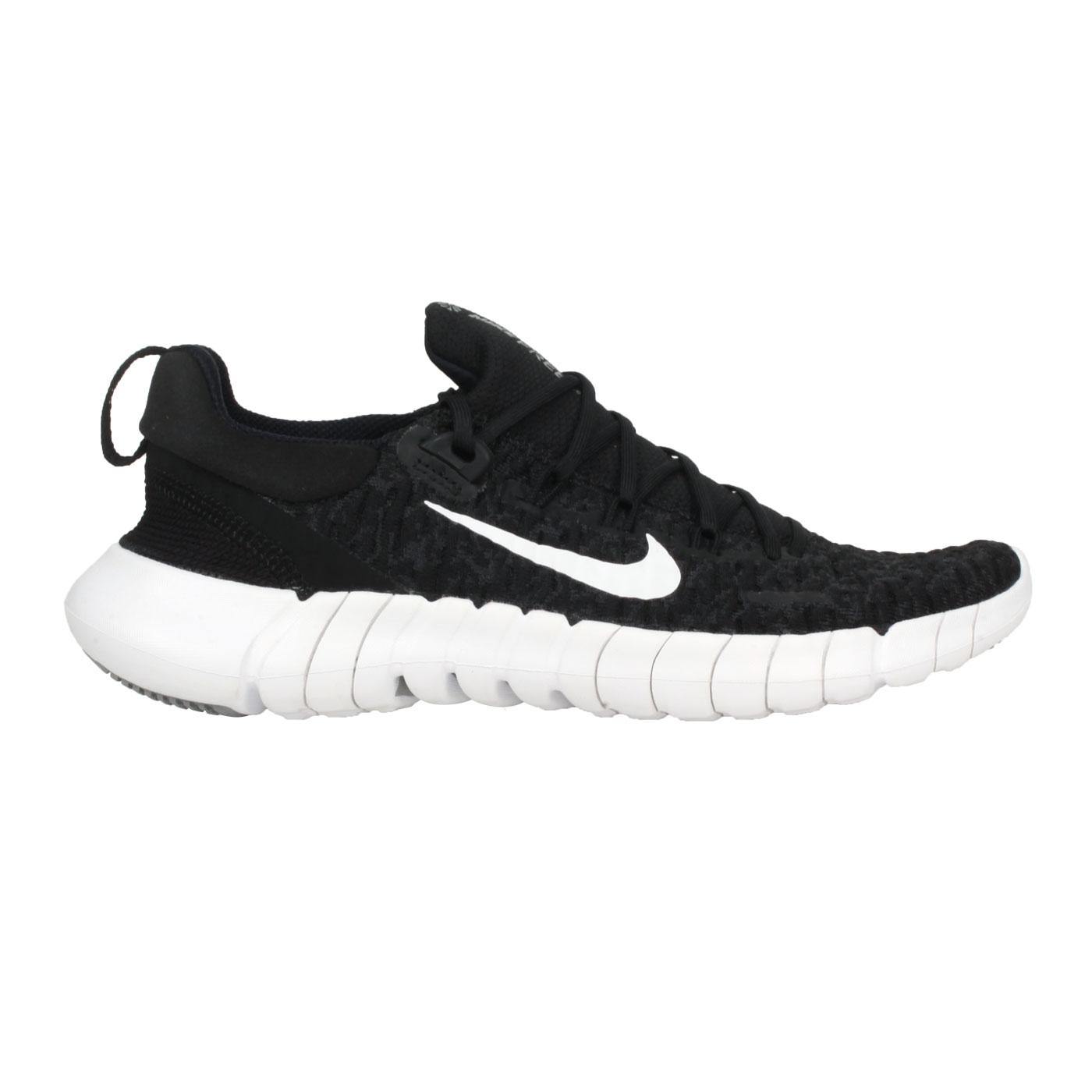 NIKE 女款運動慢跑鞋  @W FREE RN 5.0 NEXT NATURE@CZ1891001 - 黑白