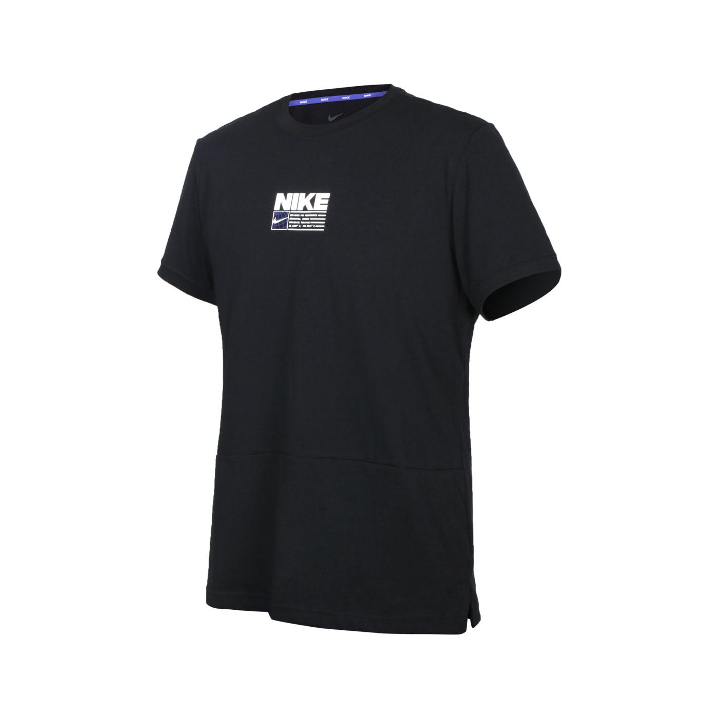 NIKE 男款短袖T恤 CZ2575-010 - 黑白