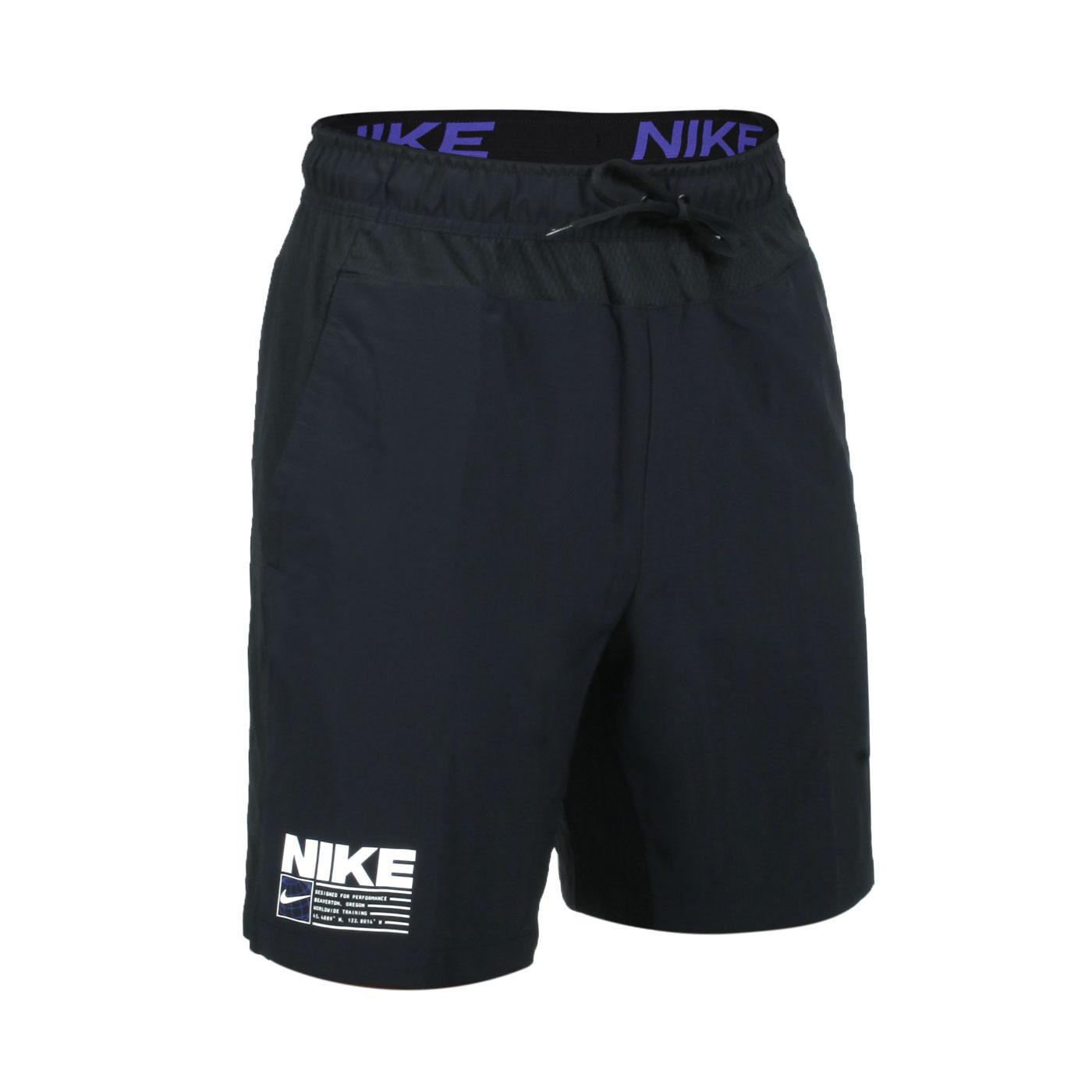 NIKE 男款訓練短褲 CZ2577-010 - 黑白