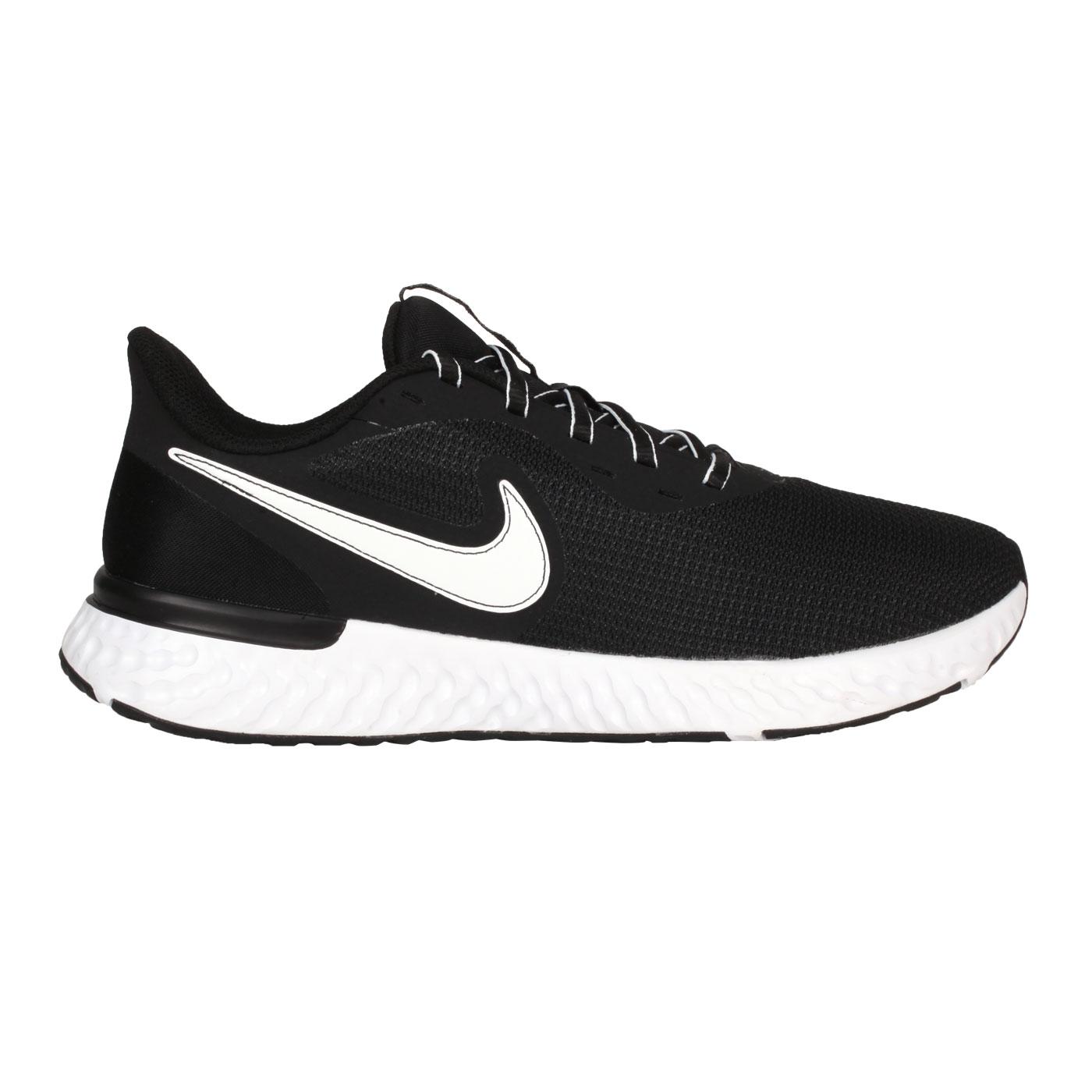 NIKE 男款慢跑鞋  @REVOLRTION 5 EXT@CZ8591001 - 黑白