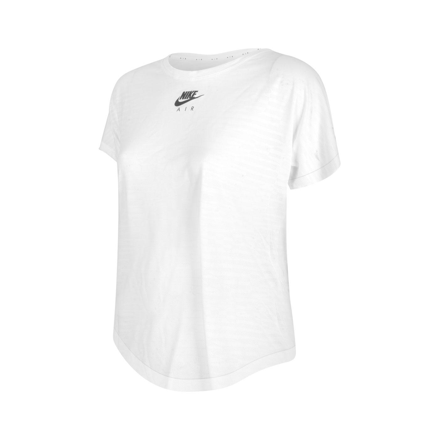 NIKE 女款短袖T恤 CZ9155-100 - 白黑