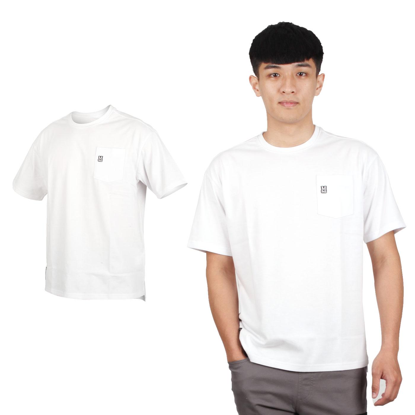 MIZUNO 男款1906系列短袖T恤 D2TA000101 - 白黑