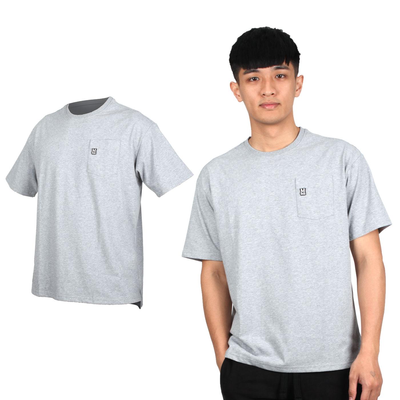 MIZUNO 男款1906系列短袖T恤 D2TA000101 - 灰黑白