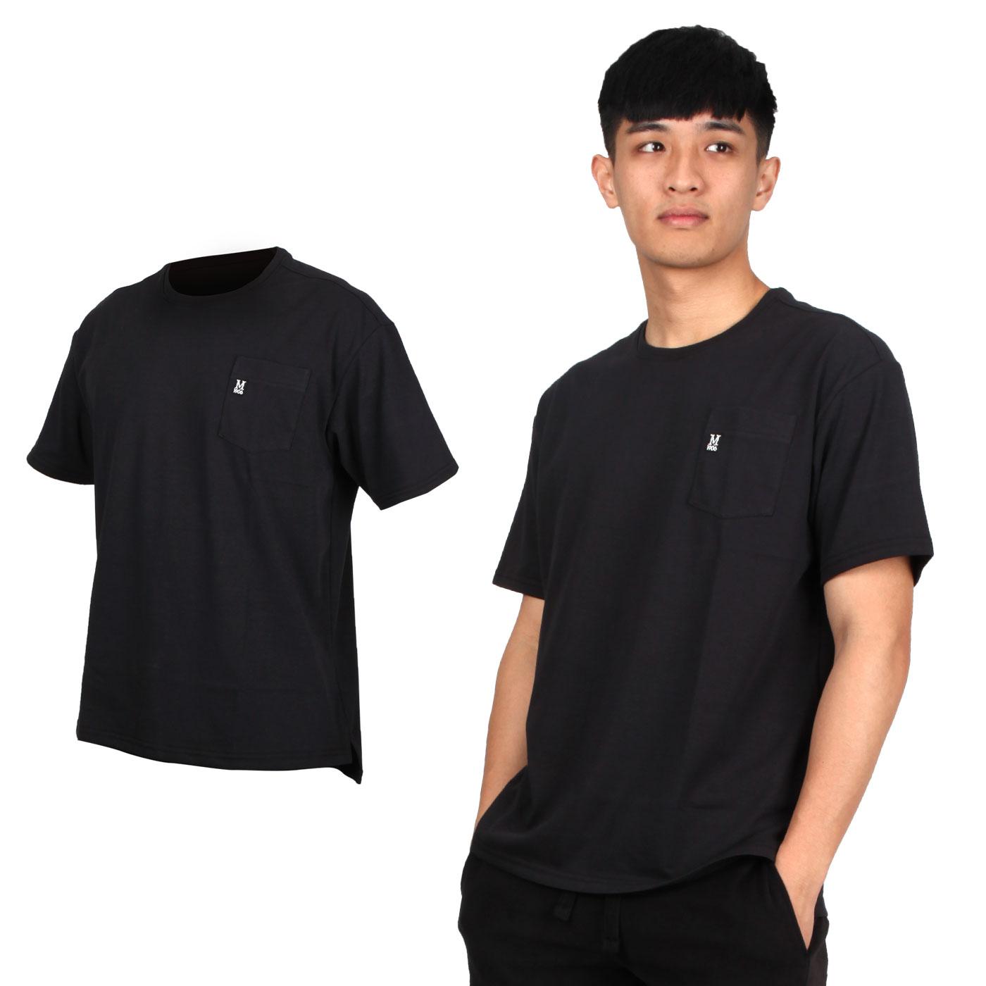 MIZUNO 男款1906系列短袖T恤 D2TA000101 - 黑白