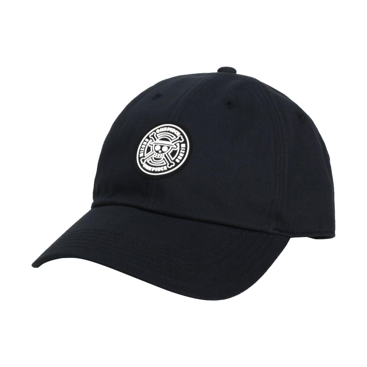 MIZUNO 特定-棉帽(海賊王聯名款) D2TW170209 - 黑白