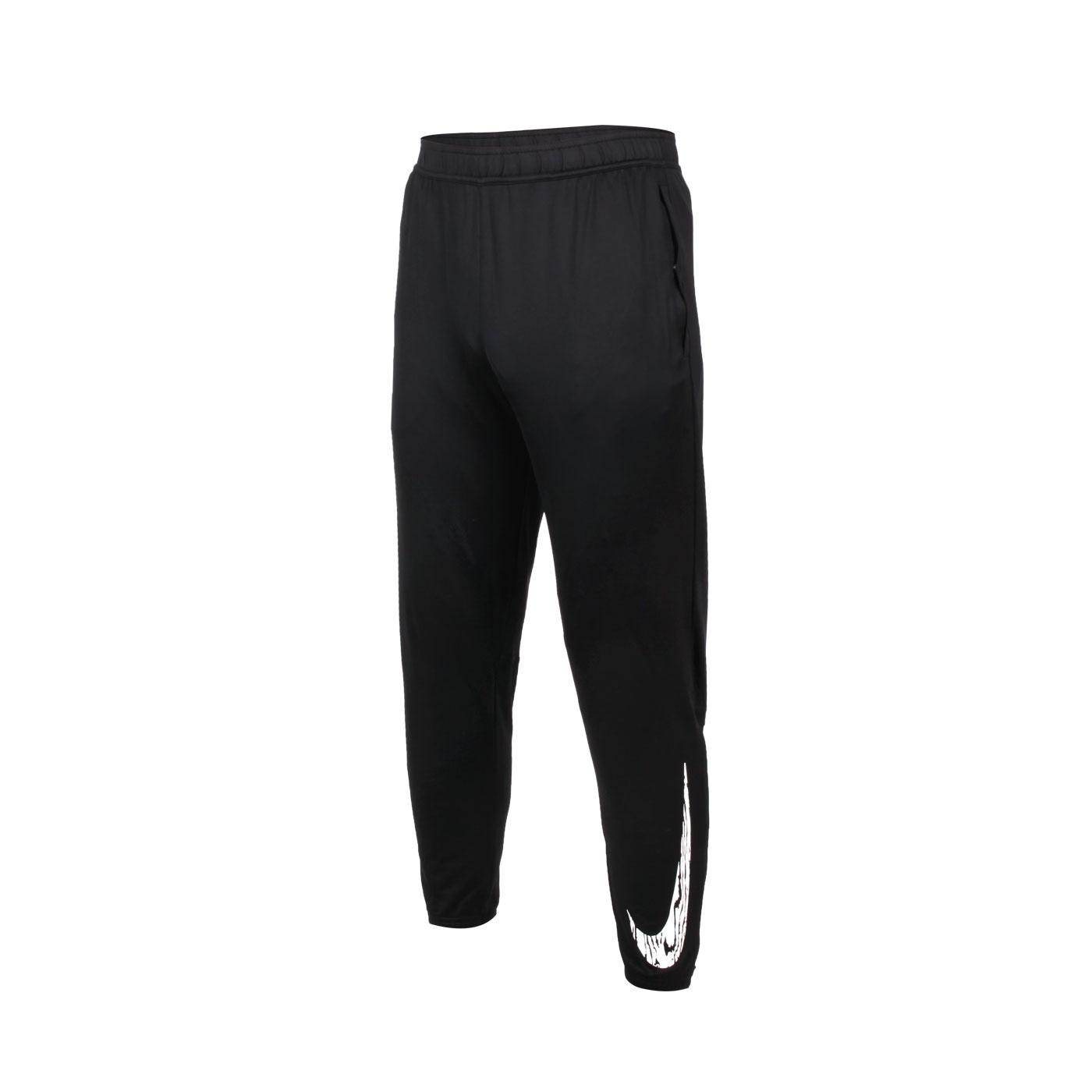 NIKE 男款針織運動長褲 DA0165-010 - 黑白