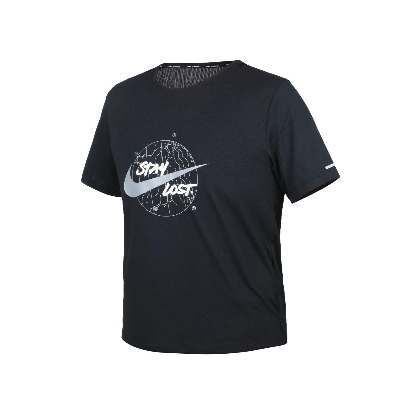 NIKE 男款短袖T恤 DA0217-010 - 黑白