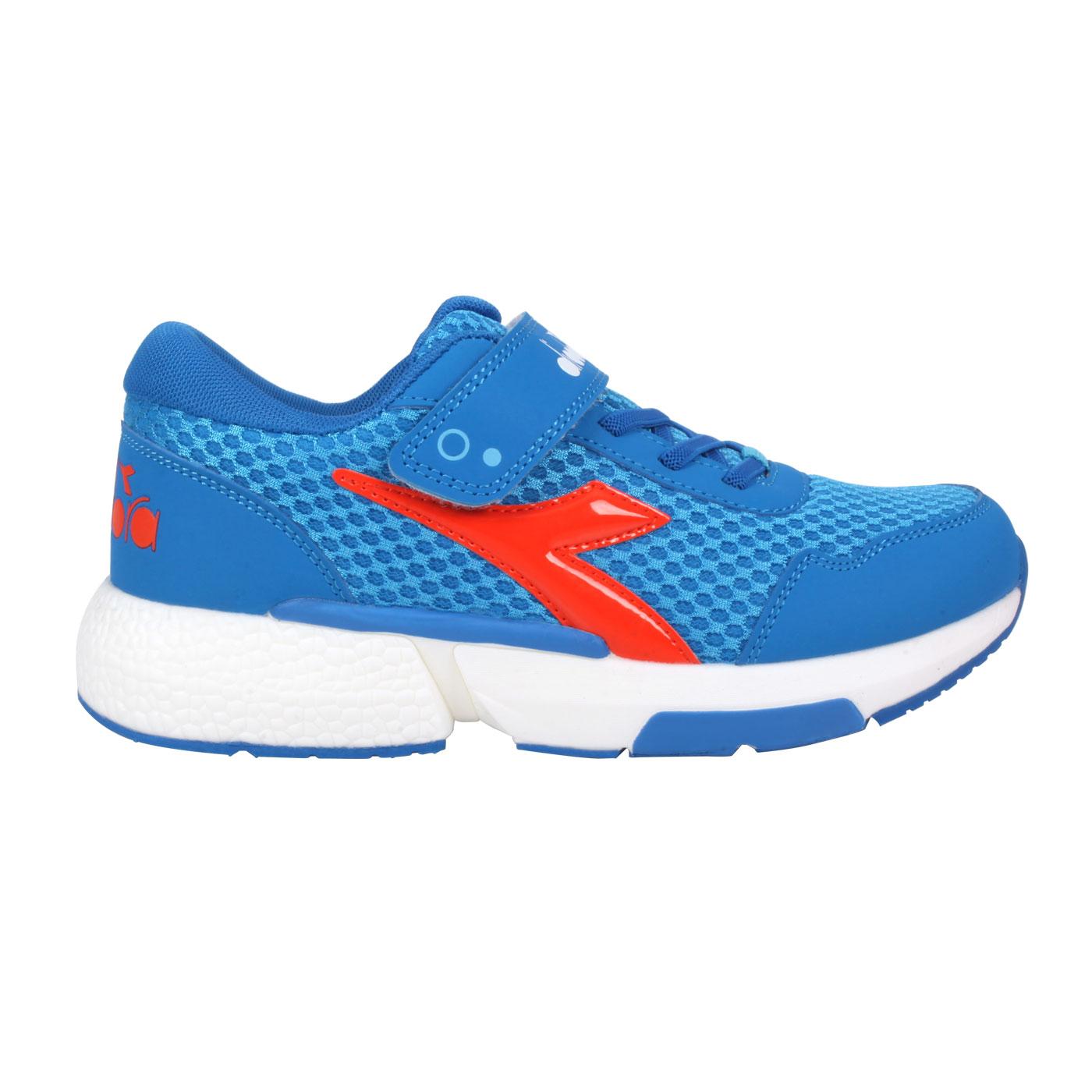 DIADORA 大童專業慢跑鞋-超寬楦 DA11031 - 藍橘