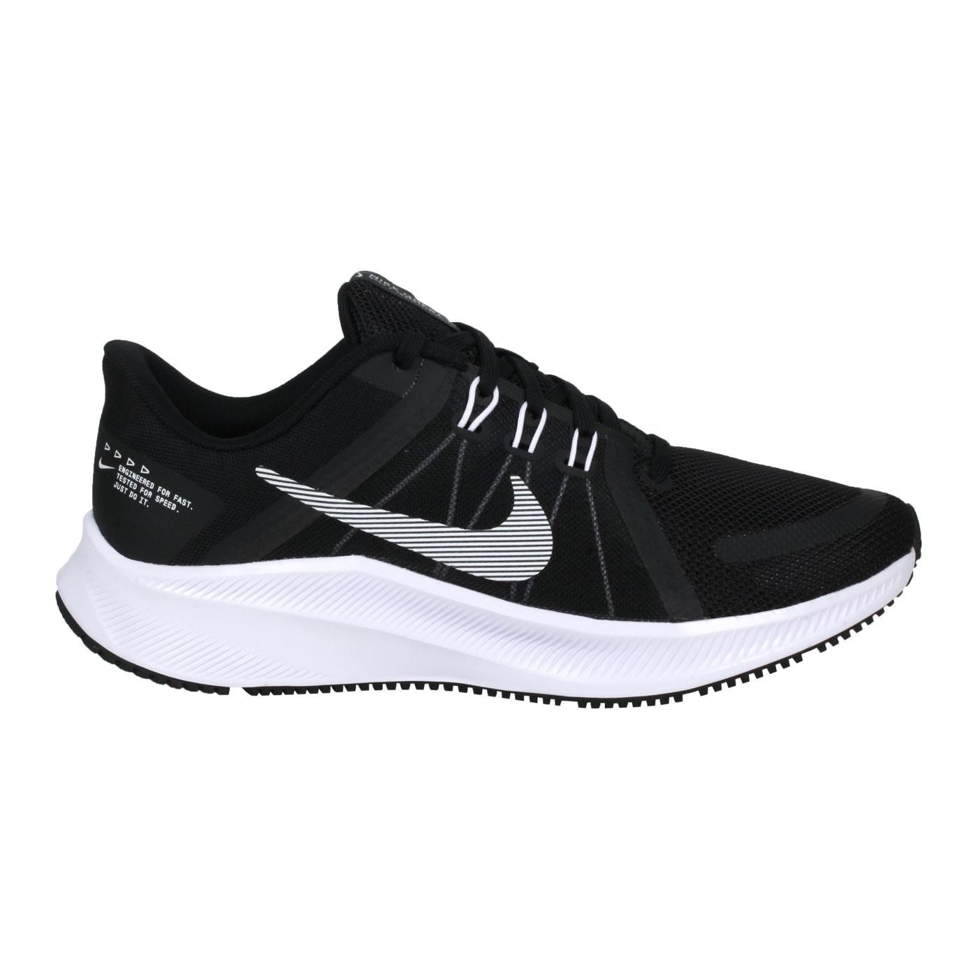 NIKE 女款慢跑鞋  @WMNS QUEST 4@DA1106006 - 黑白
