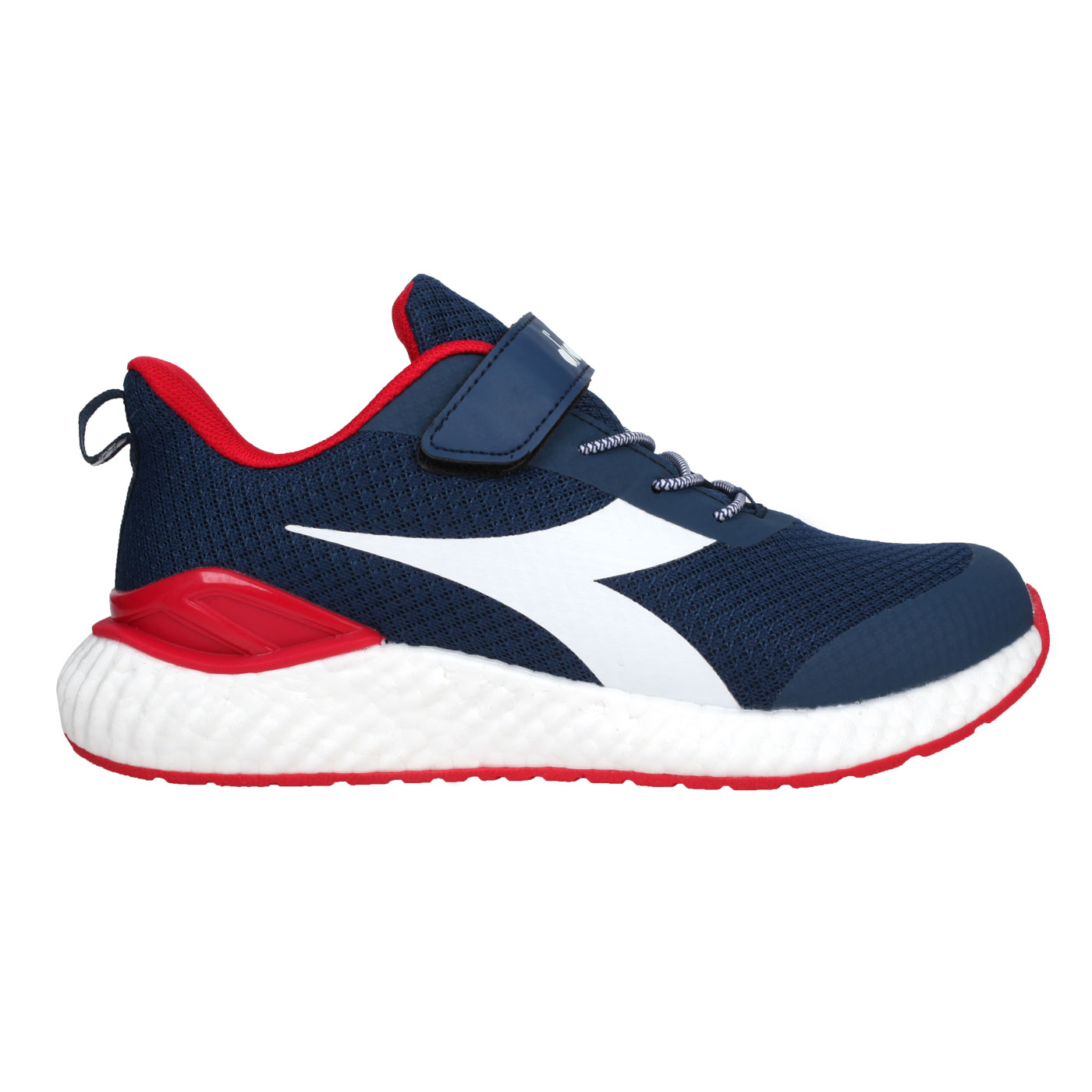 DIADORA 大童運動慢跑鞋-超寬楦 DA13018 - 丈青白紅