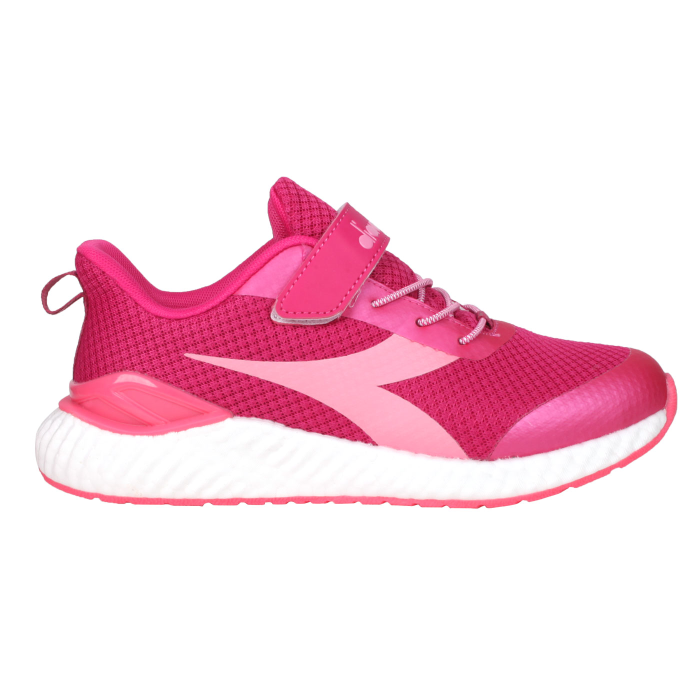 DIADORA 大童運動慢跑鞋-超寬楦 DA13018 - 桃紅粉