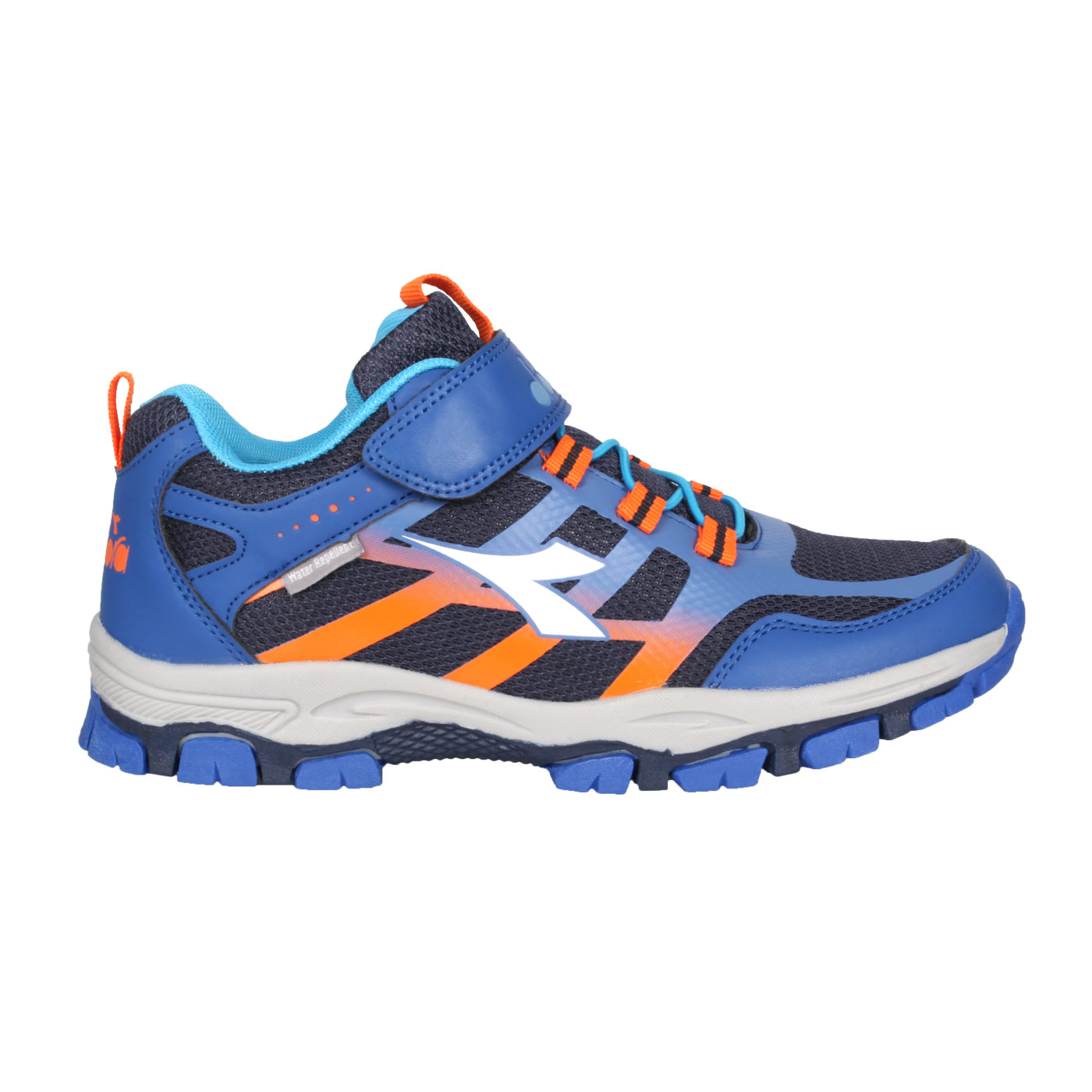 DIADORA 大童戶外野趣越野鞋-超寬楦 DA13035 - 藍白橘