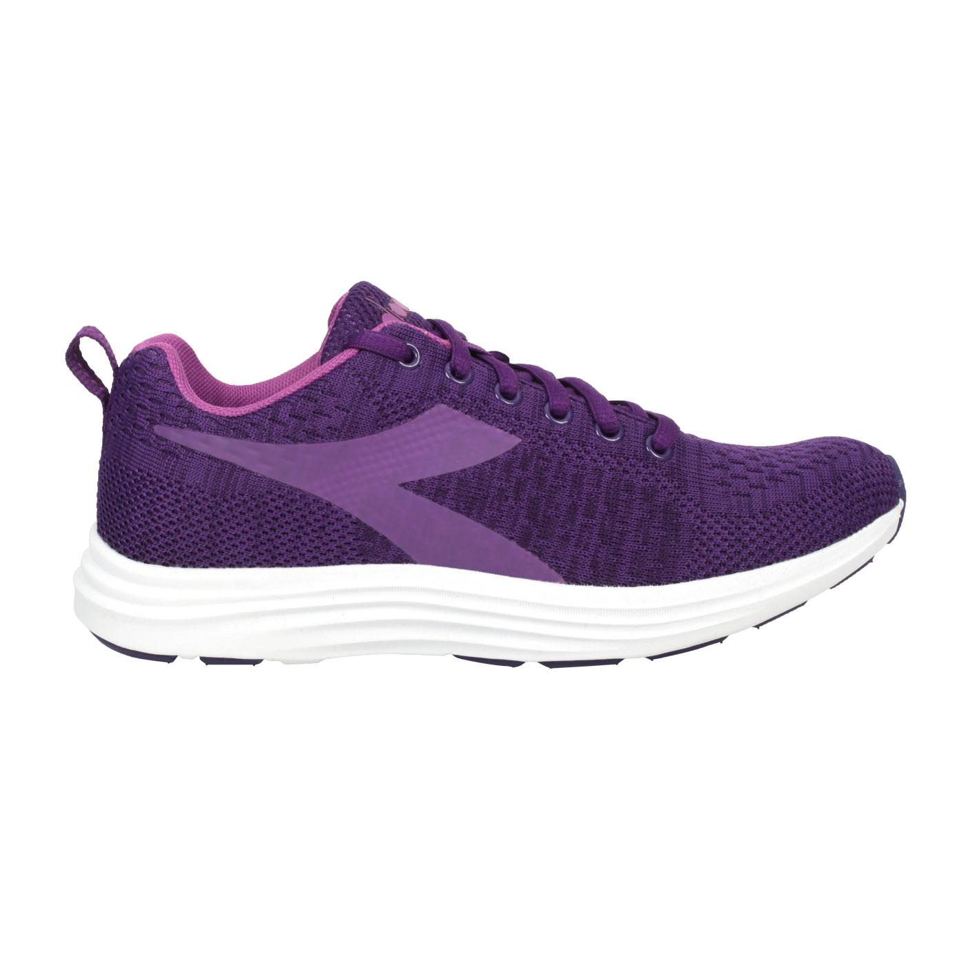 DIADORA 女款進口慢跑鞋 DA175597-C8909 - 深紫