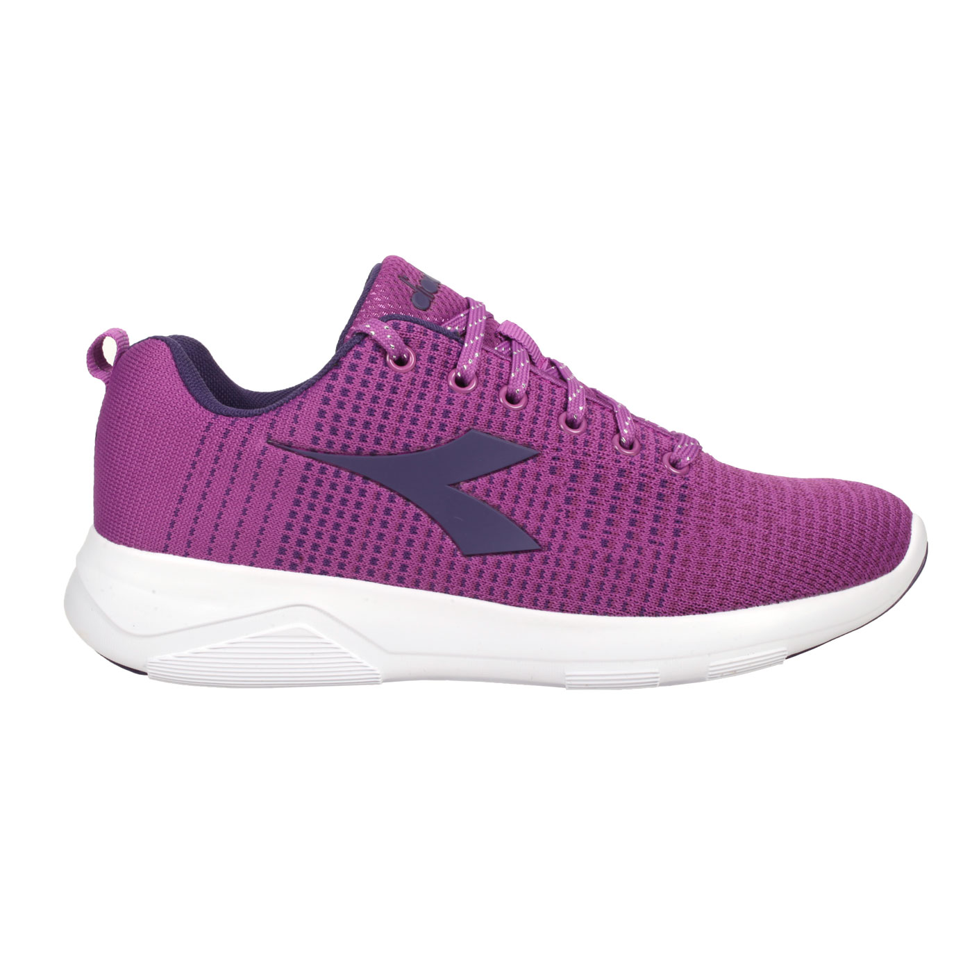 DIADORA 女款進口慢跑鞋 DA175609-C8905 - 紫