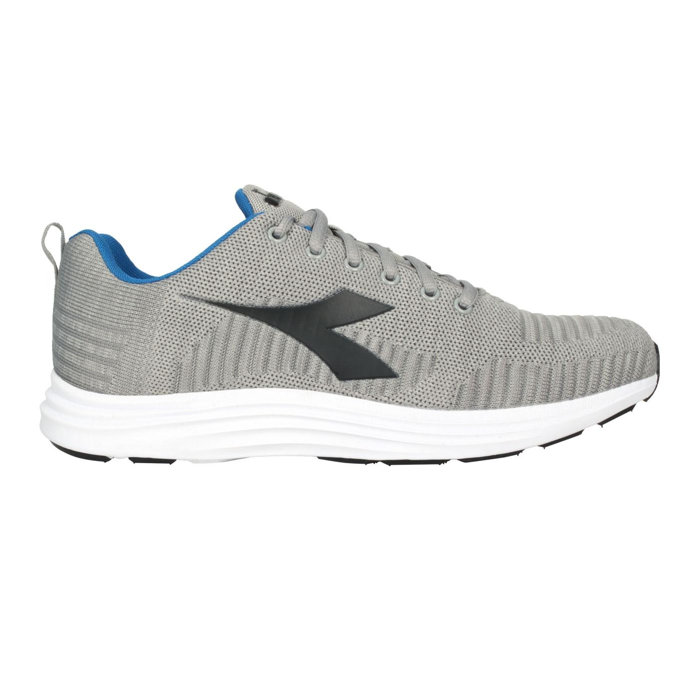 DIADORA 男款原廠進口慢跑鞋 DA176869-C4785 - 灰黑藍