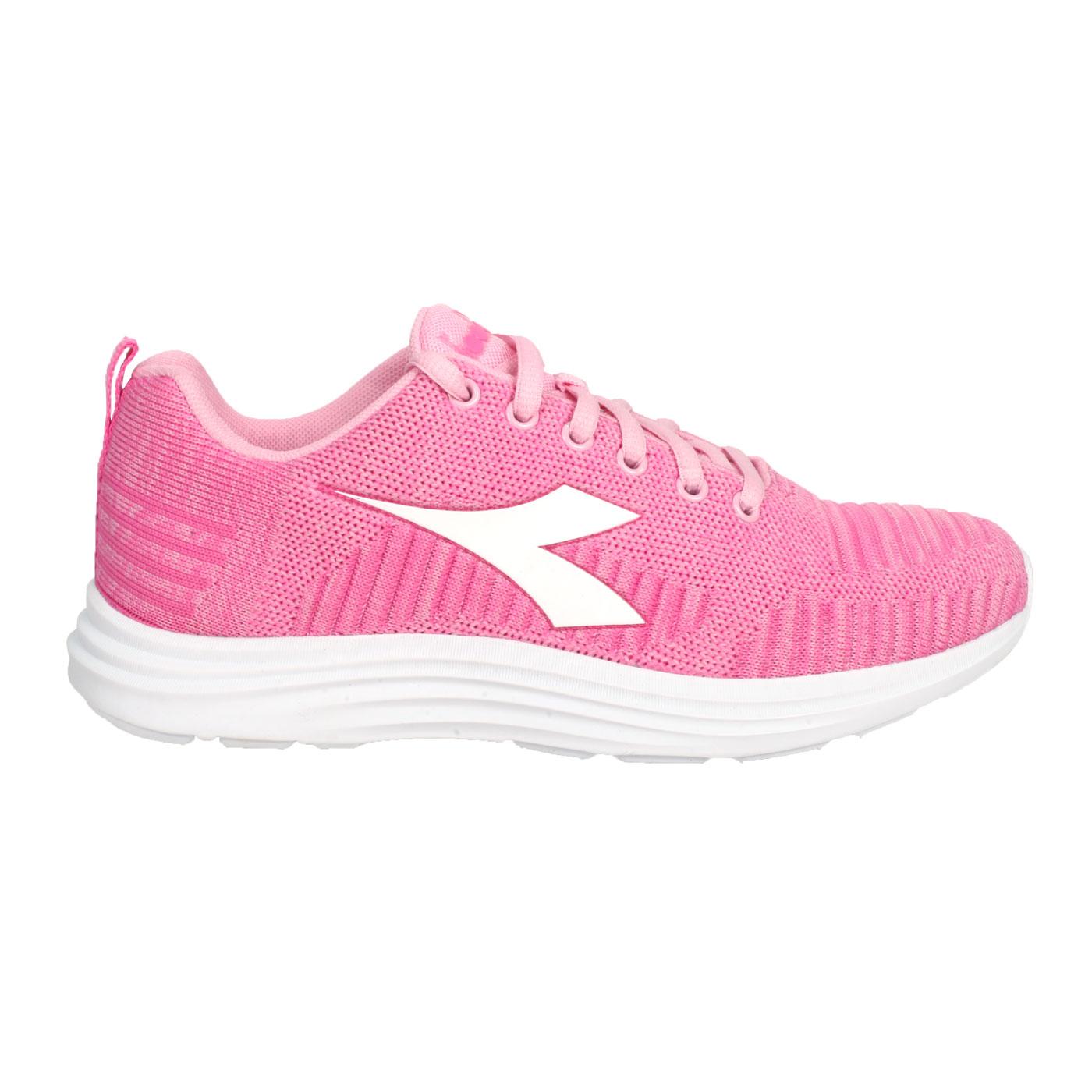 DIADORA 女款進口慢跑鞋 DA176872-C9042 - 桃紅白