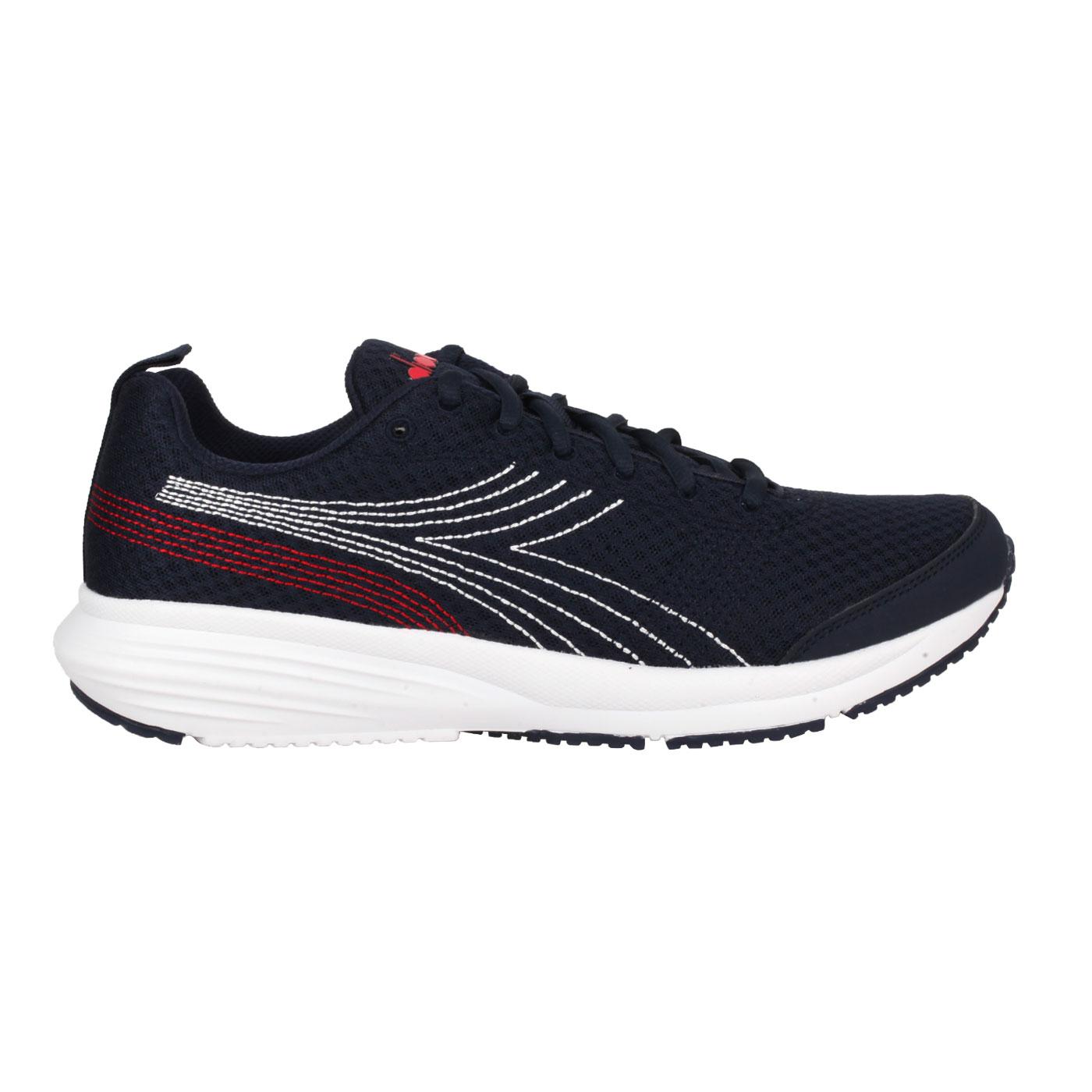 DIADORA 男款進口慢跑鞋 DA176877-C1141 - 丈青白紅