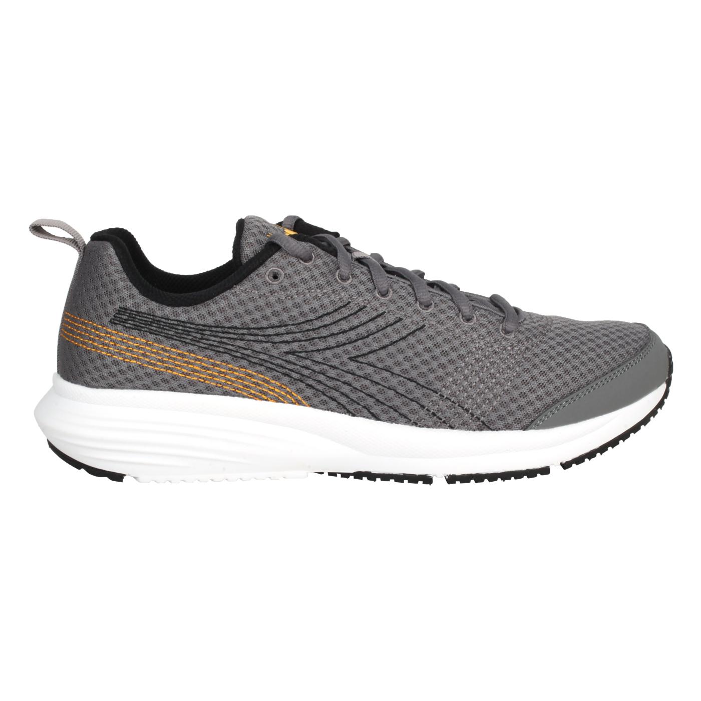 DIADORA 男款進口慢跑鞋 DA176877-C9081 - 深灰黃