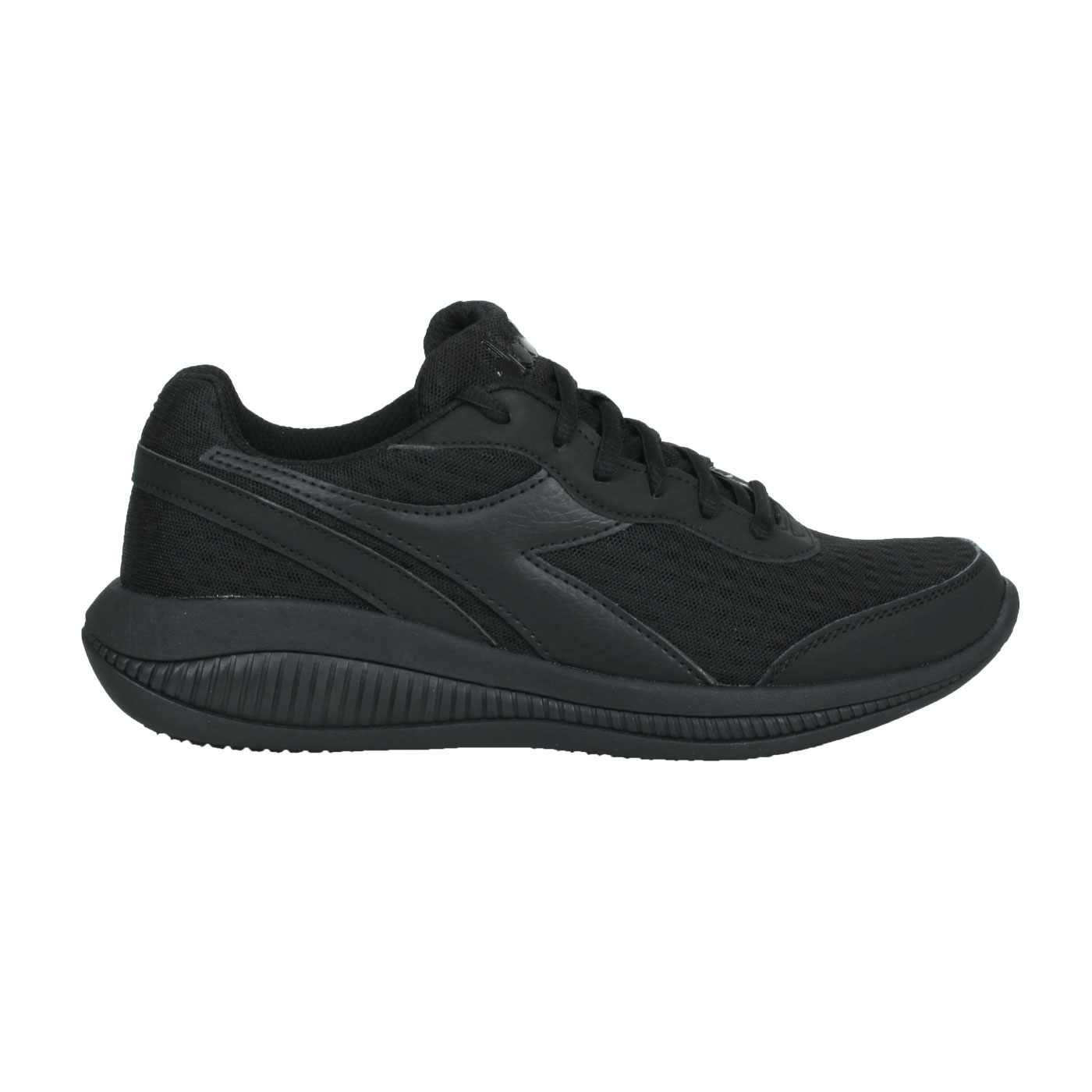 DIADORA 男款進口慢跑鞋 DA176888-C0200 - 黑
