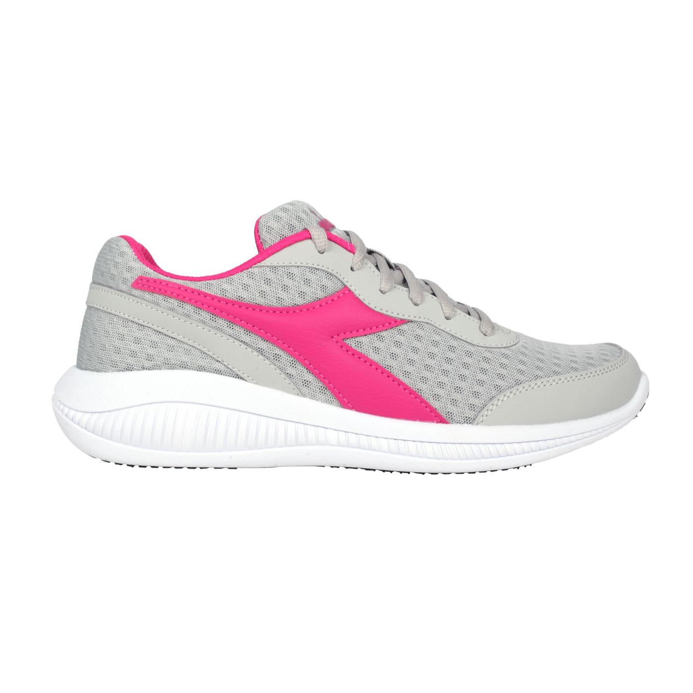 DIADORA 女款原廠進口慢跑鞋 DA176894-C3916 - 灰桃紅