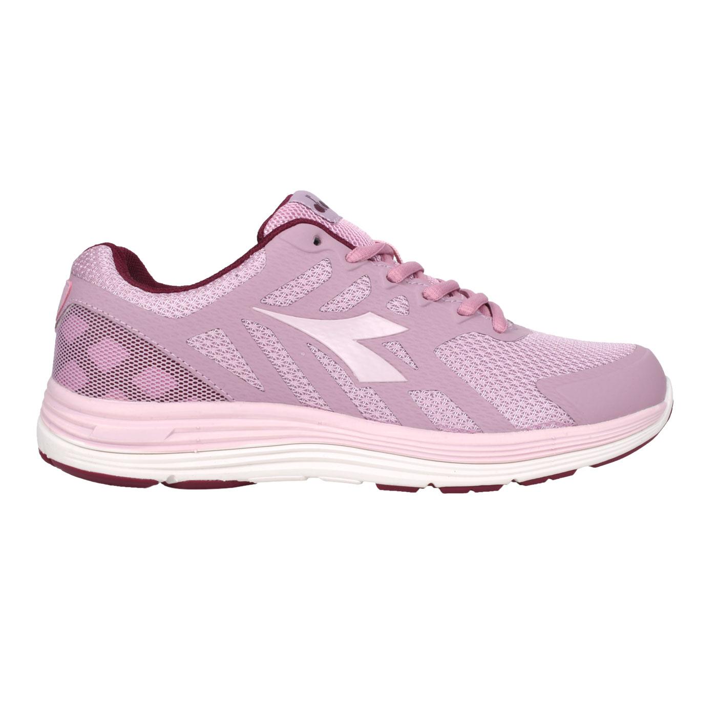 DIADORA 女款專業輕量慢跑鞋 DA31635 - 芋紫