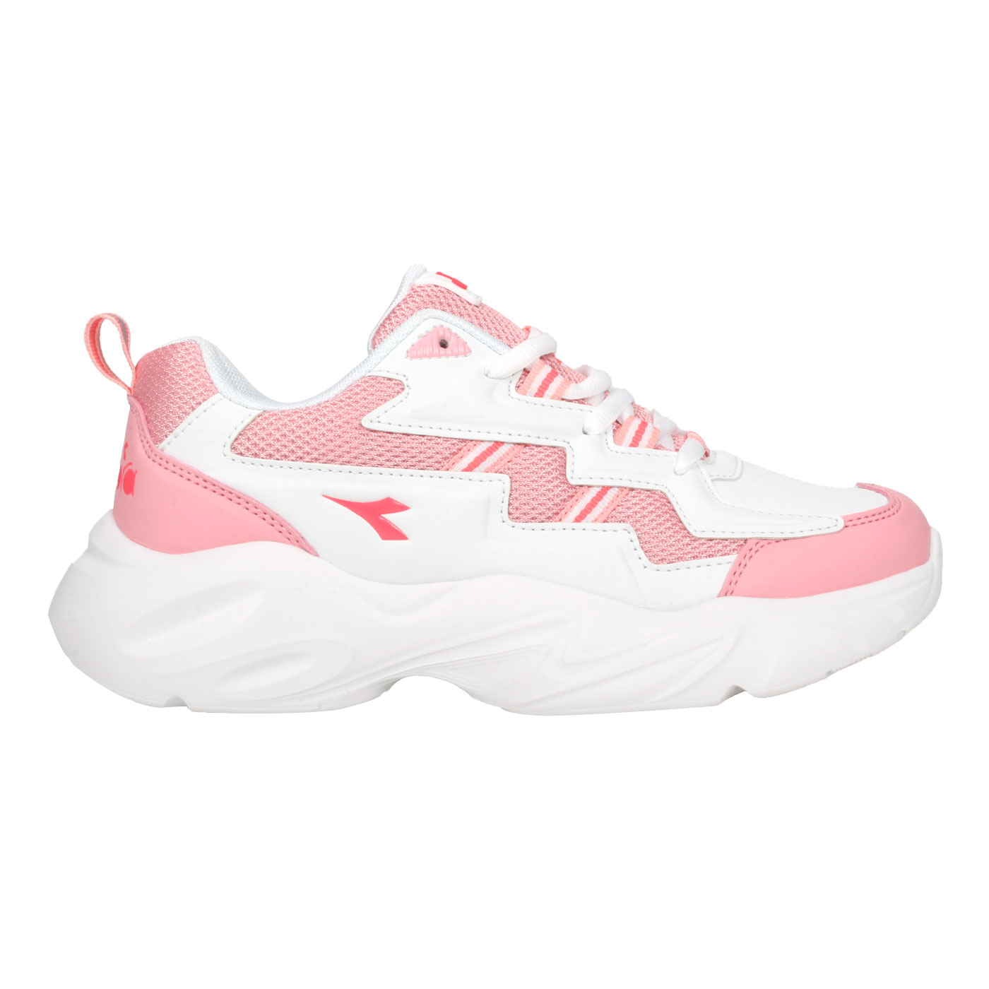 DIADORA 女款休閒運動鞋 DA31656 - 粉紅白