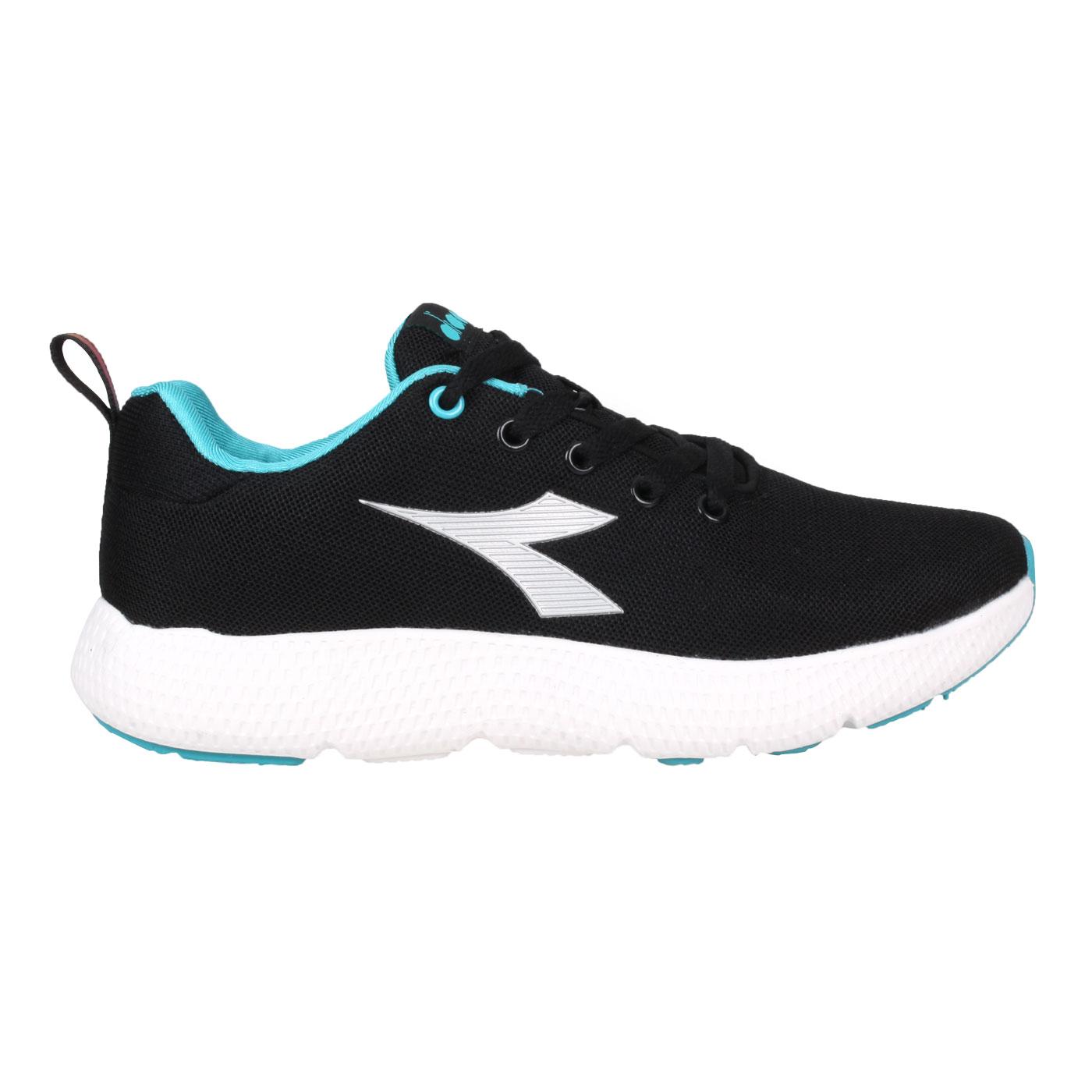 DIADORA 女款專業輕量慢跑鞋 DA31658 - 黑水藍