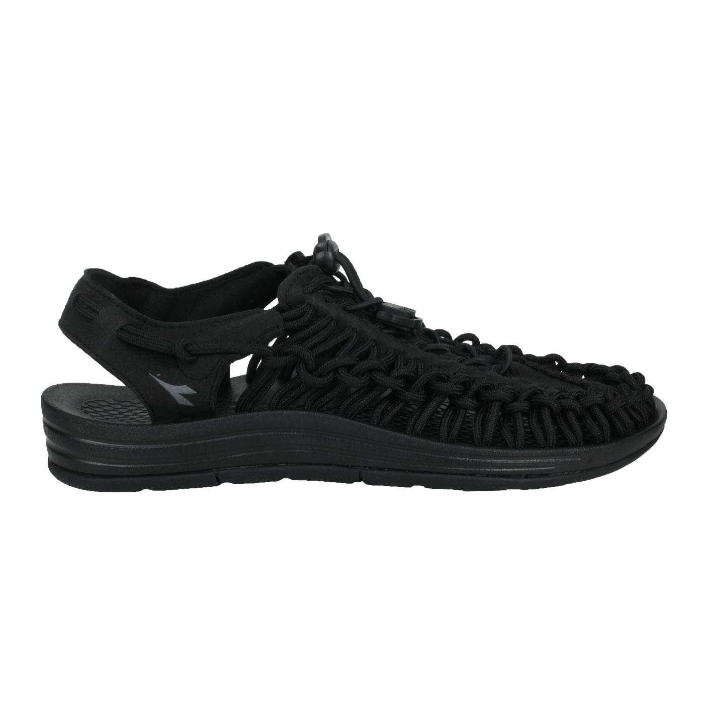 DIADORA 女款編織涼鞋 DA31662 - 黑銀
