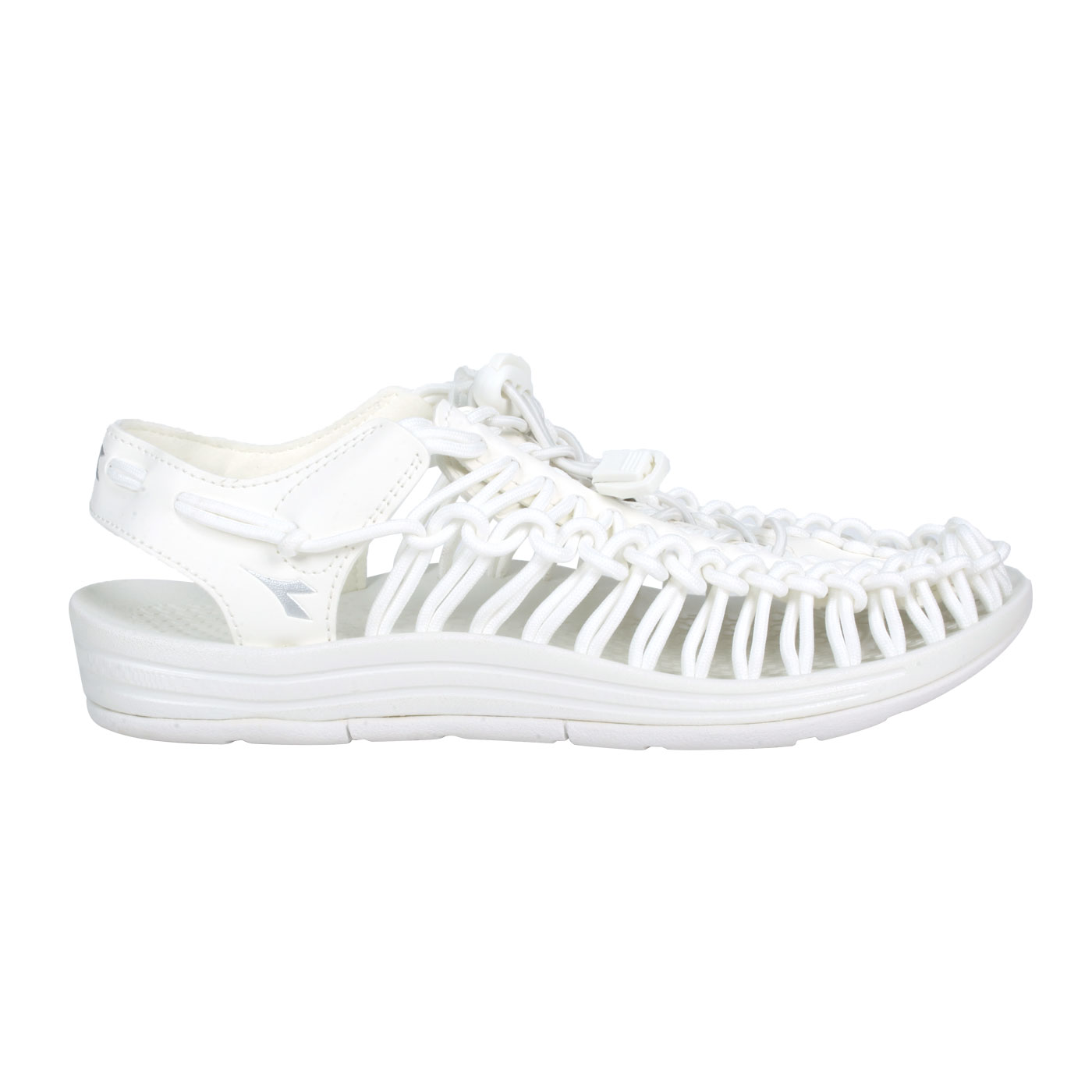 DIADORA 女款編織涼鞋 DA31663 - 白銀