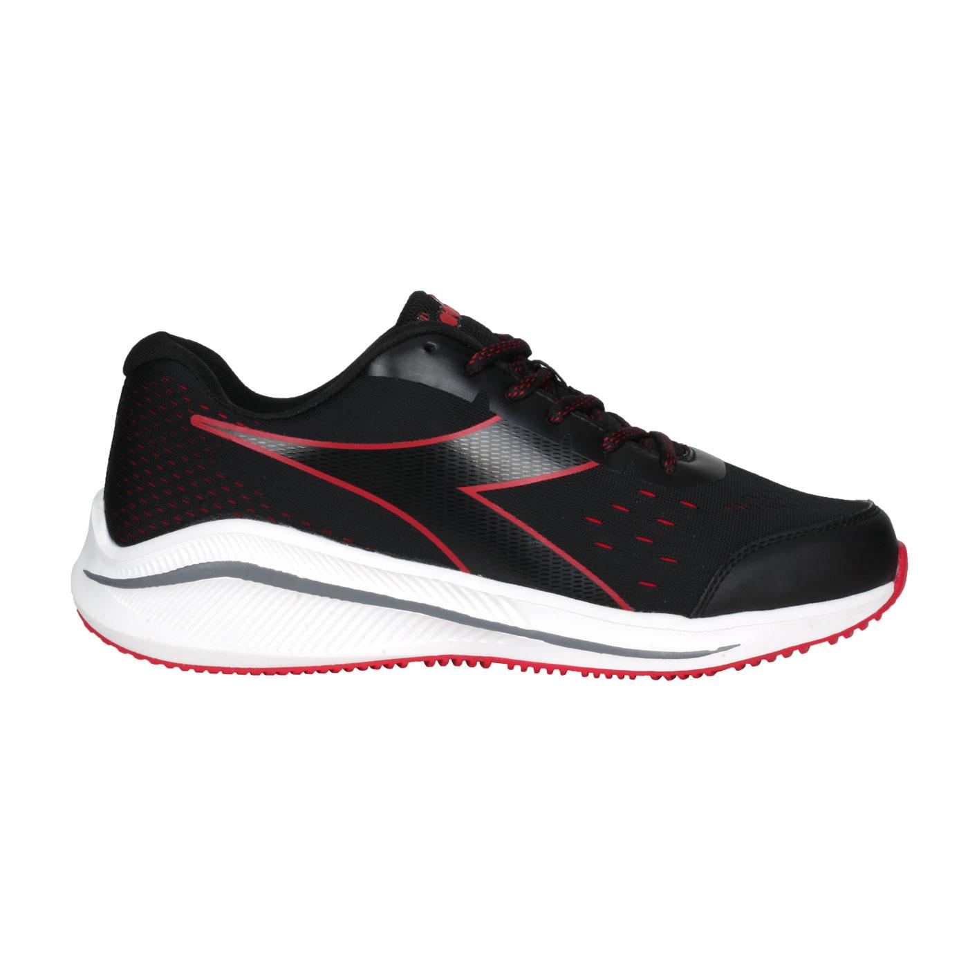 DIADORA 男款專業輕量慢跑鞋-E寬楦 DA71171 - 黑紅