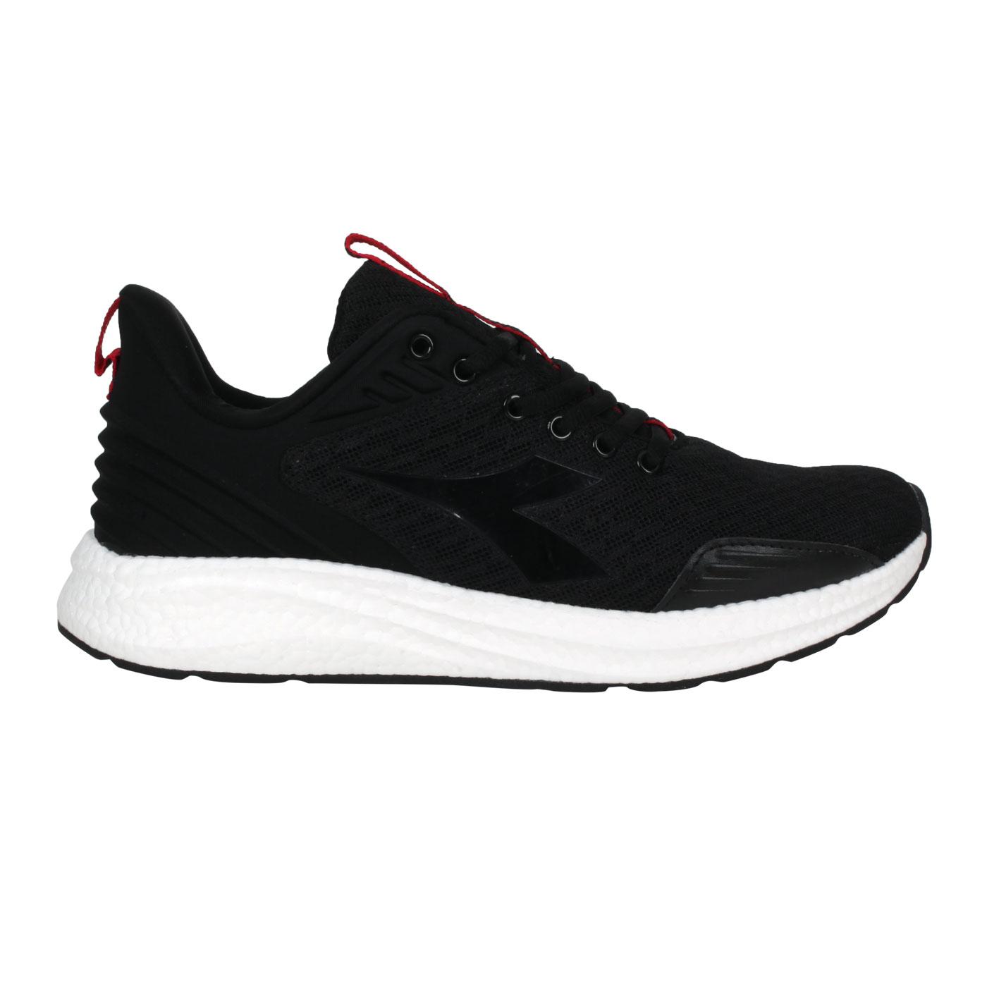 DIADORA 男款專業避震慢跑鞋 DA71176 - 黑紅