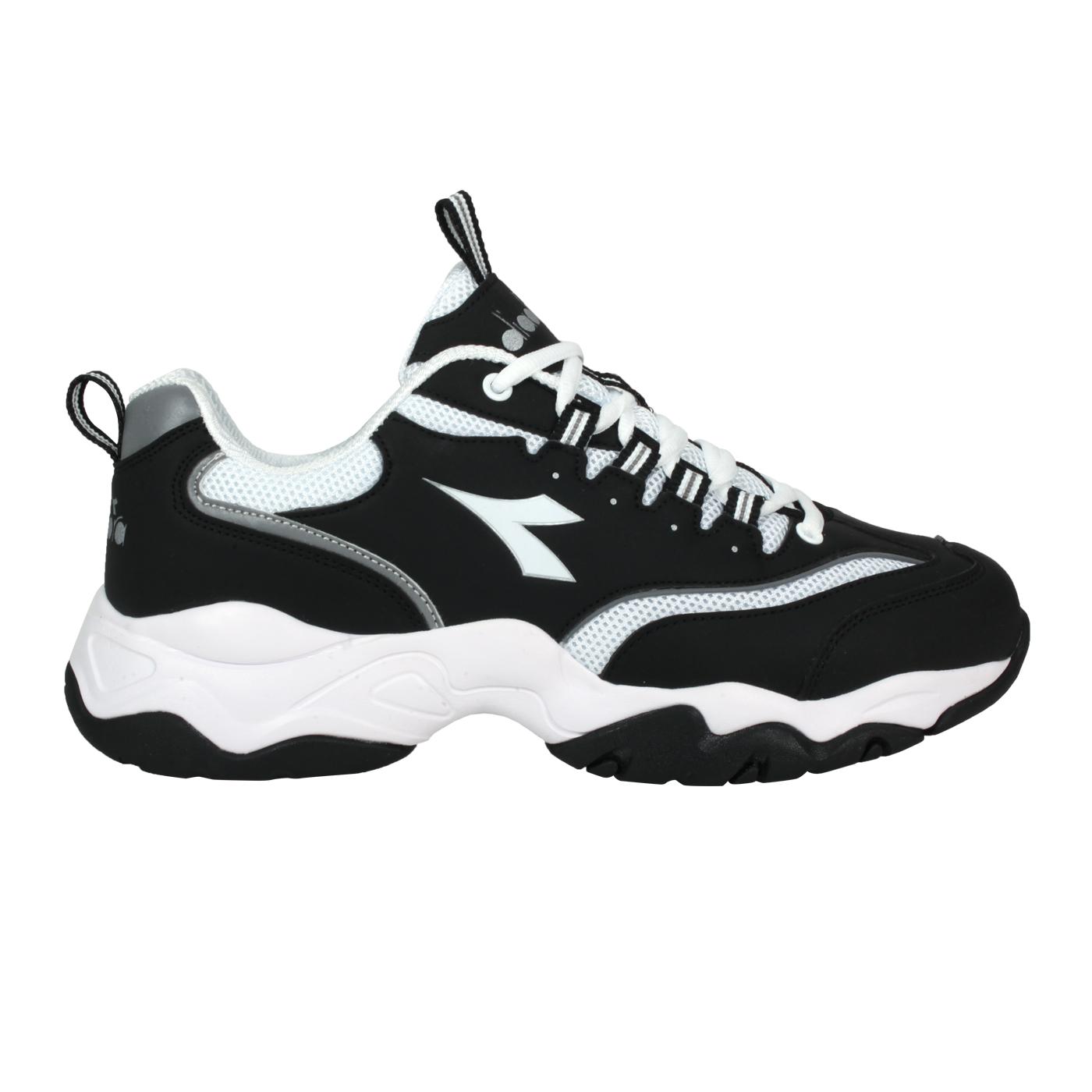 DIADORA 男款運動鞋-E寬楦 DA71181 - 黑白