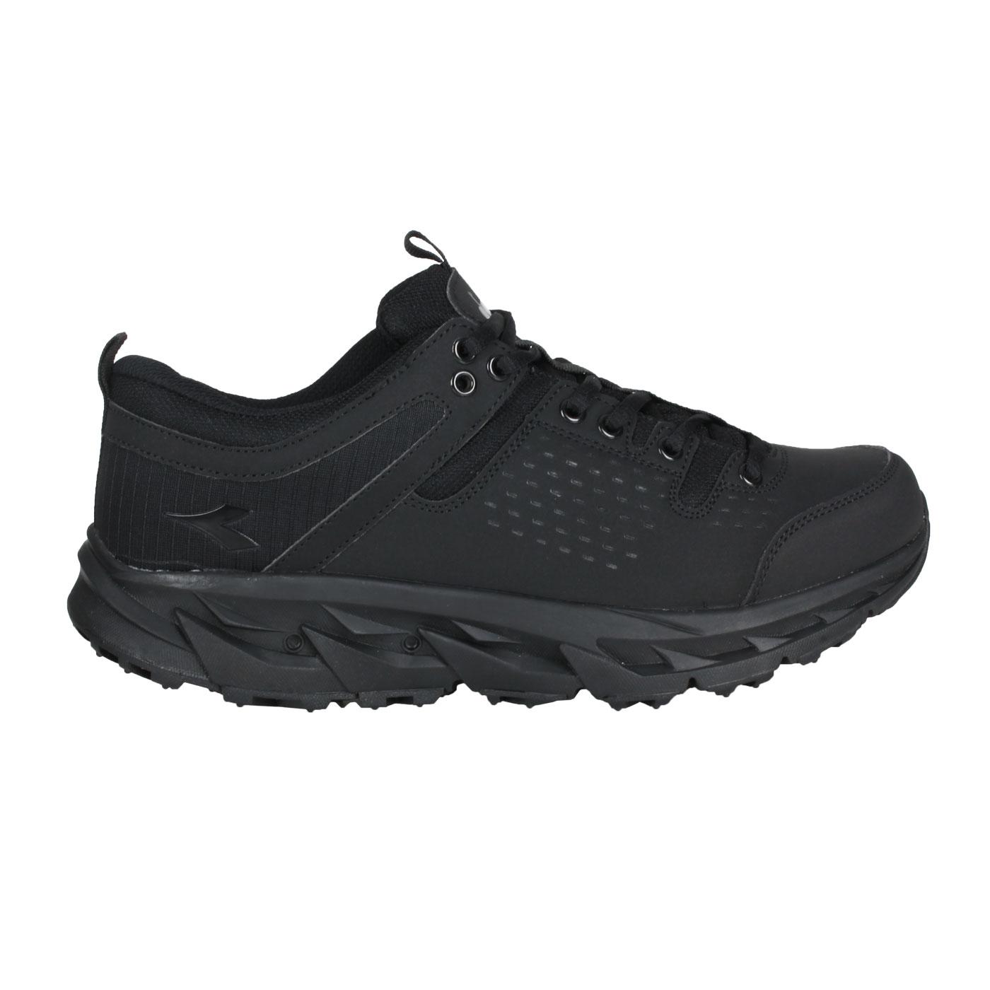 DIADORA 男款MIT戶外野趣越野鞋 DA71187 - 黑