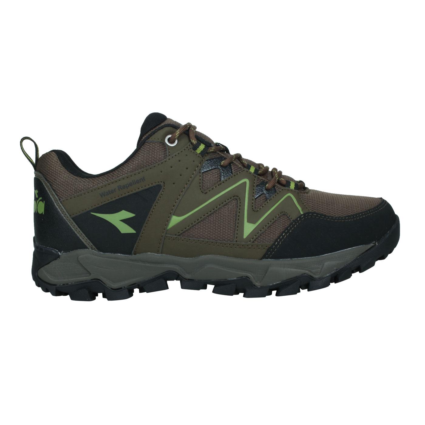 DIADORA 男款戶外野趣登山鞋 DA71190 - 棕黑綠