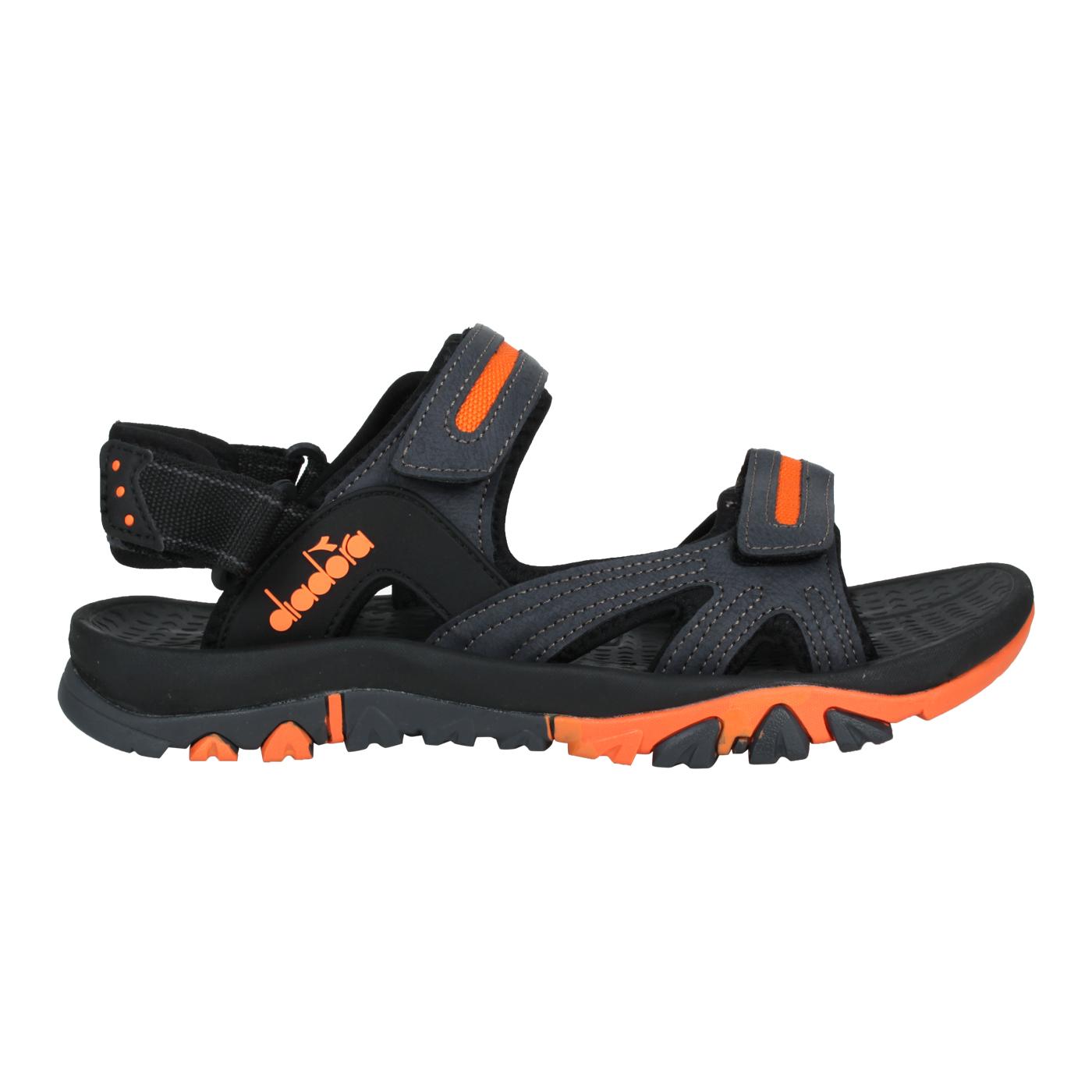 DIADORA 男款運動涼鞋 DA71203 - 黑灰橘
