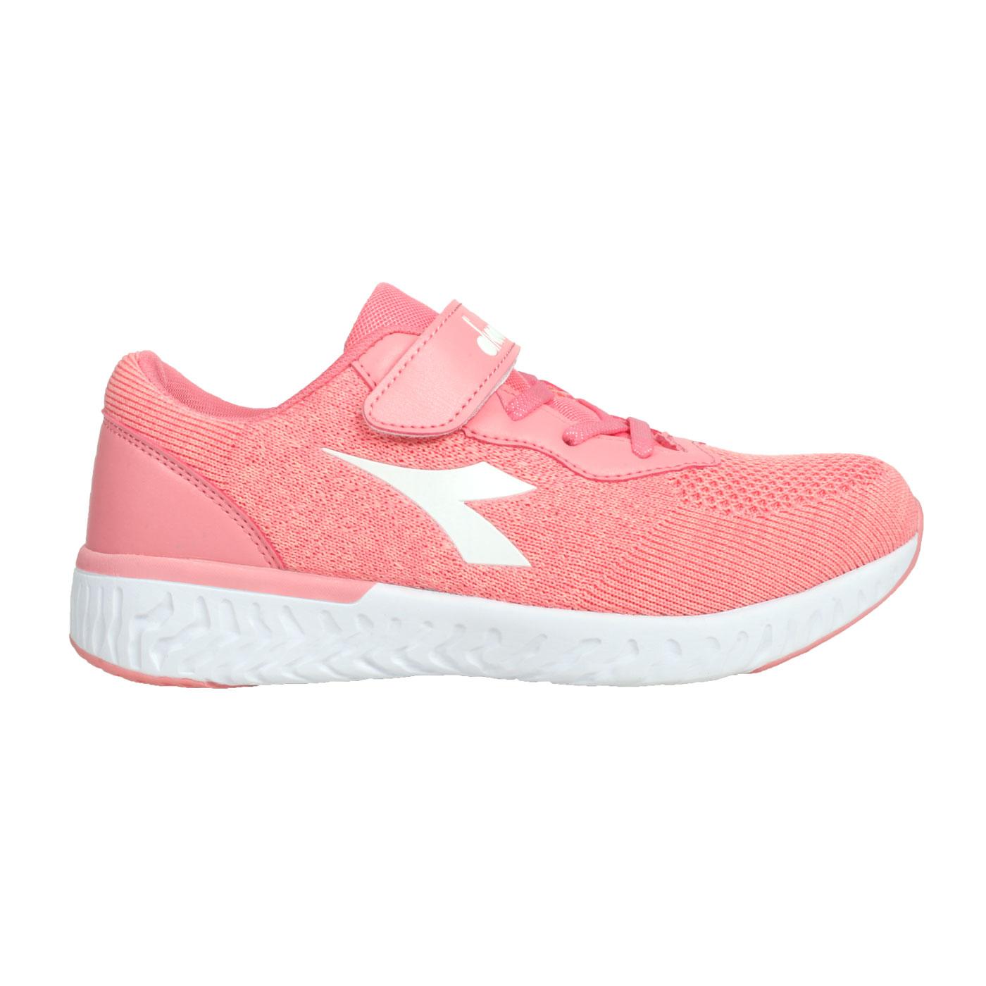 DIADORA 大童歐風運動鞋-加寬楦 DA9AKC7892 - 粉紅白