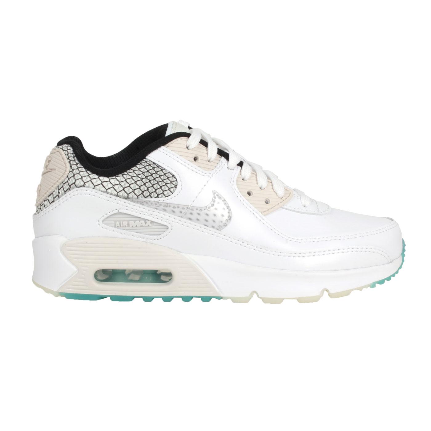 NIKE 女款休閒鞋  @AIR 90 SE 2 (GS)@DB4187100 - 白黑淺卡其