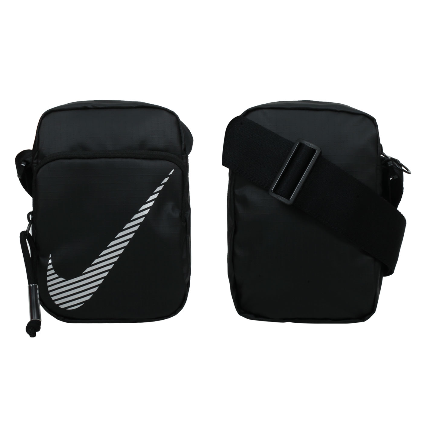 NIKE 小型側背包 DB4696-010 - 黑白