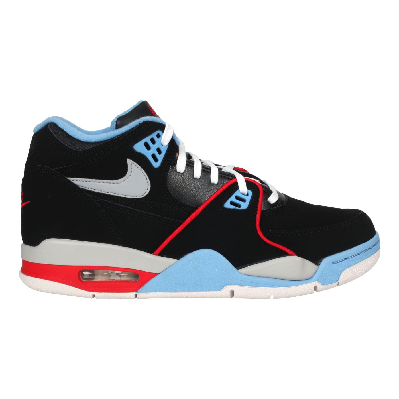 NIKE 男款運動鞋  @AIR FLIGHT 89@DB5918001 - 黑藍紅
