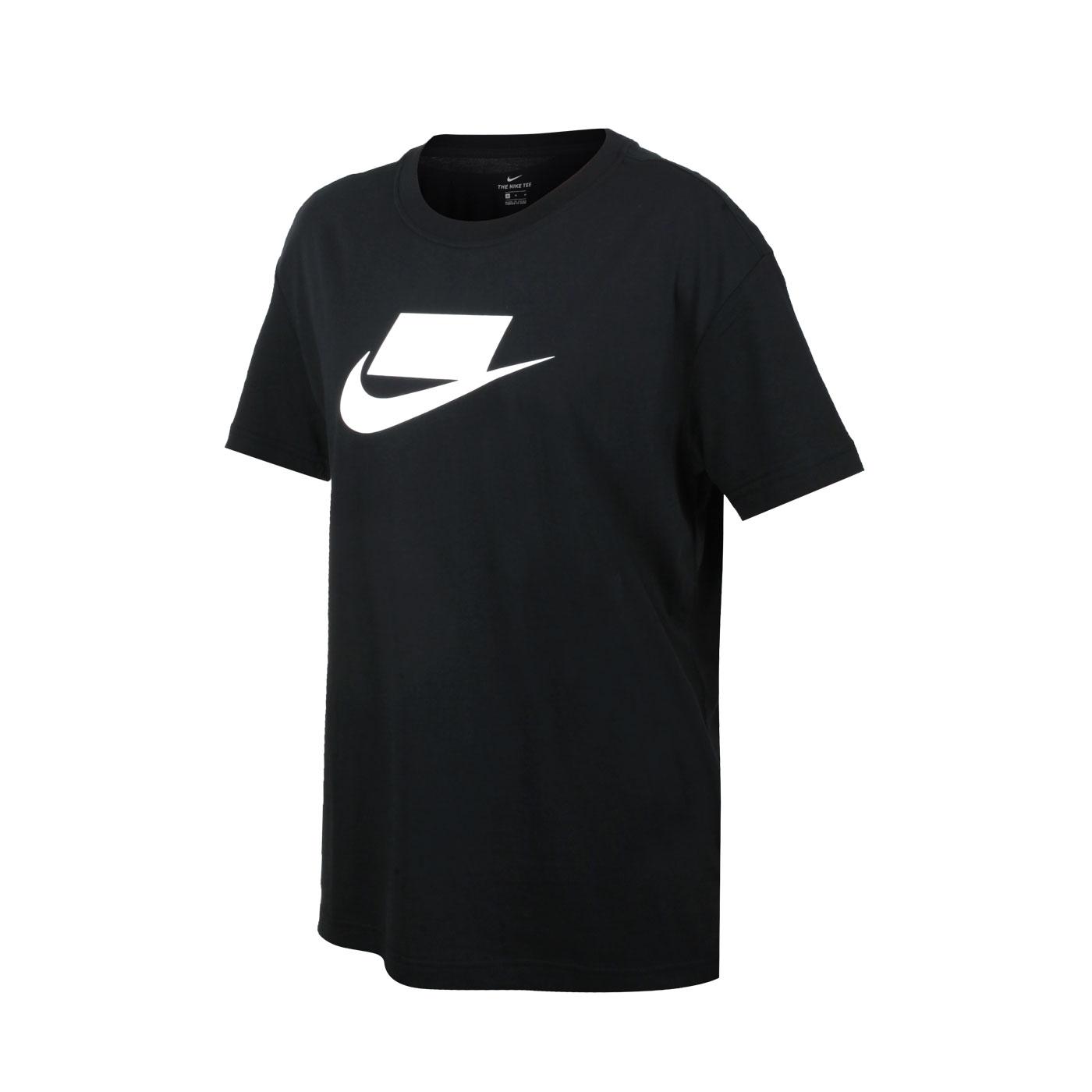 NIKE 女款短袖T恤 DB9828-010 - 黑白