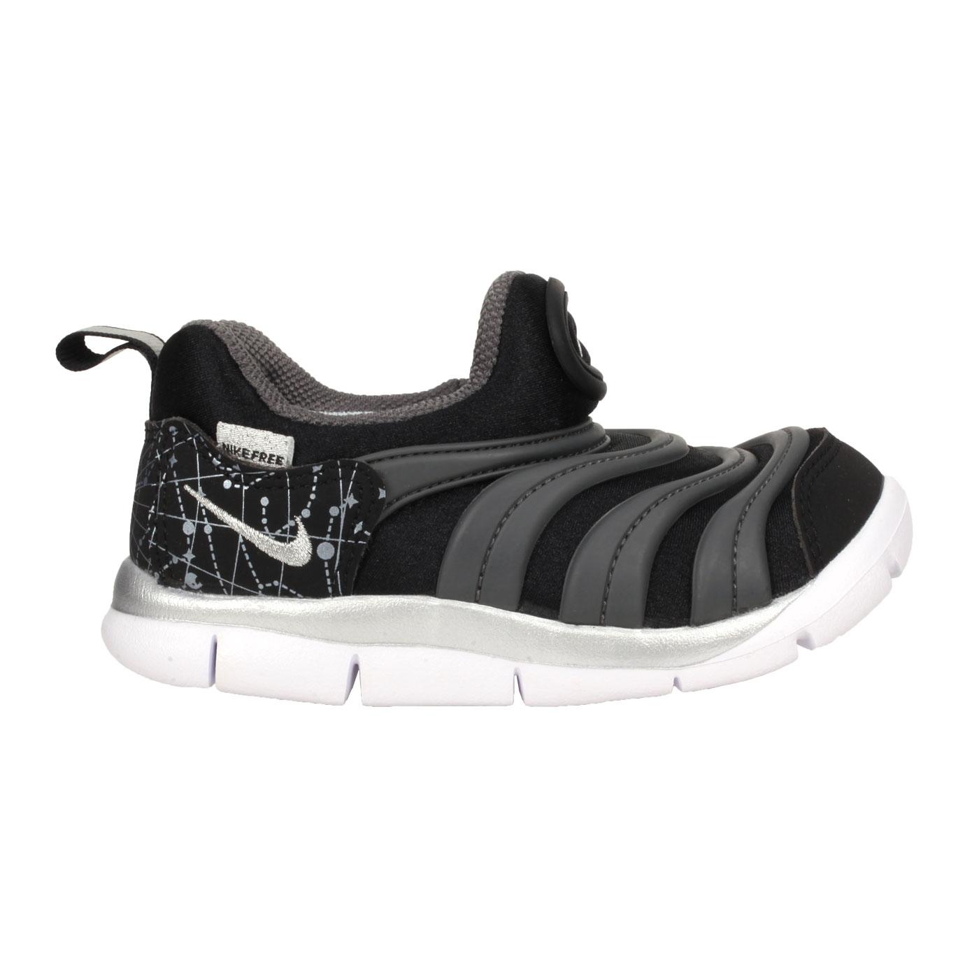 NIKE 小童休閒運動鞋  @DYNAMO FREE (TD)@DC3273001 - 黑灰銀