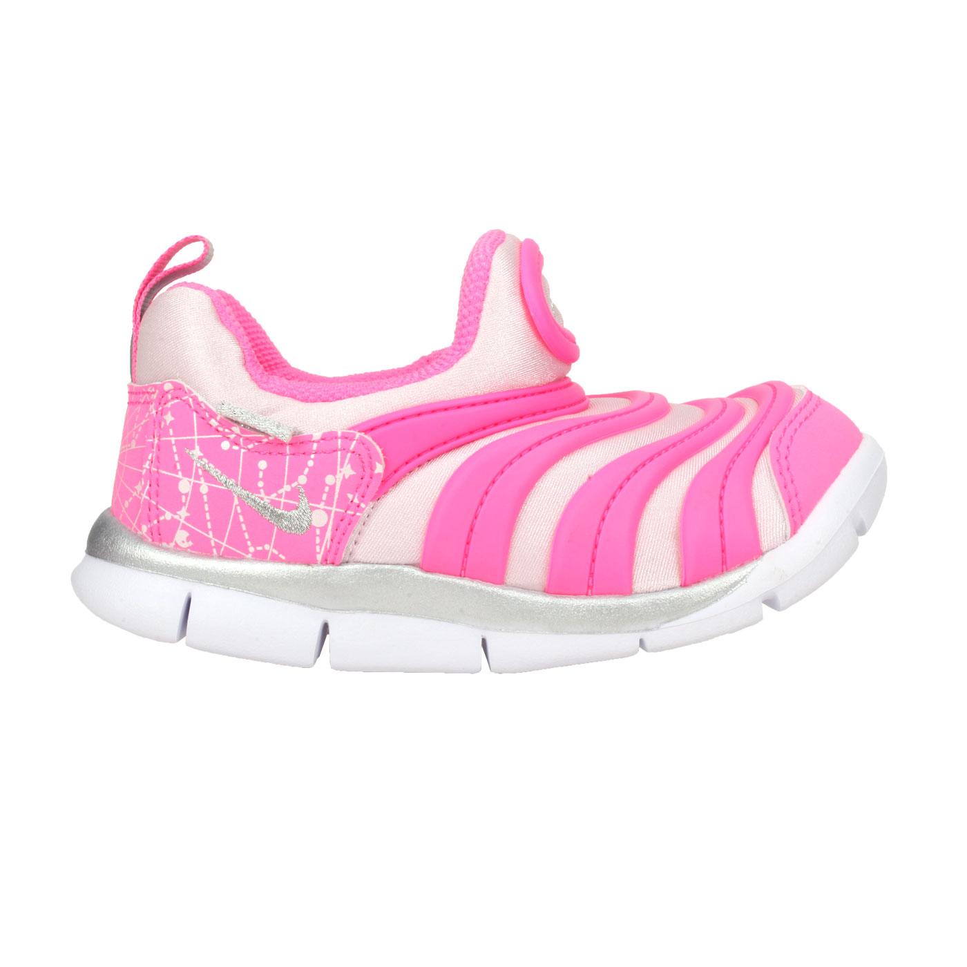 NIKE 小童休閒運動鞋  @DYNAMO FREE (TD)@DC3273606 - 粉紅銀