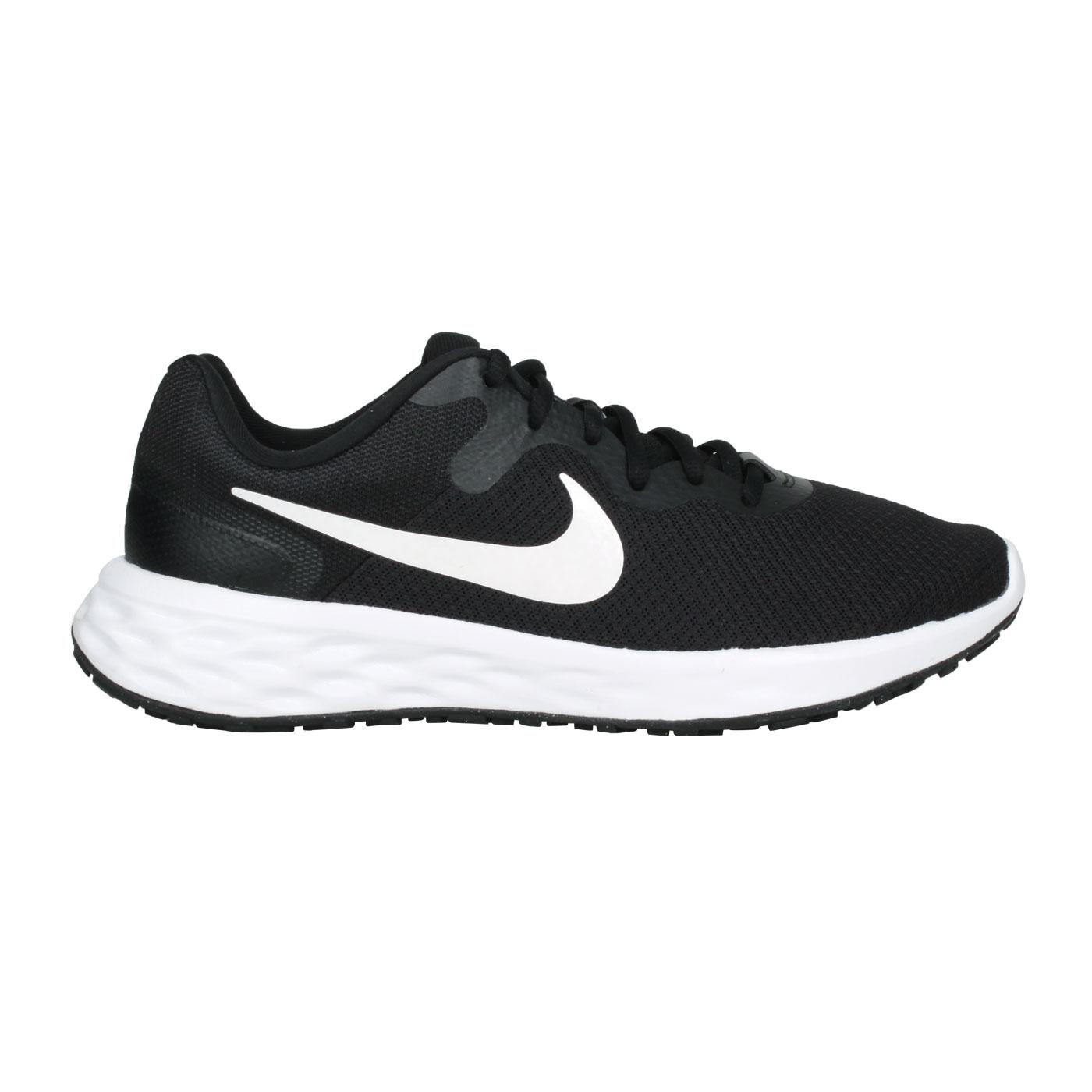 NIKE 男款慢跑鞋   @REVOLUTION 6 NN@DC3728-003 - 黑白